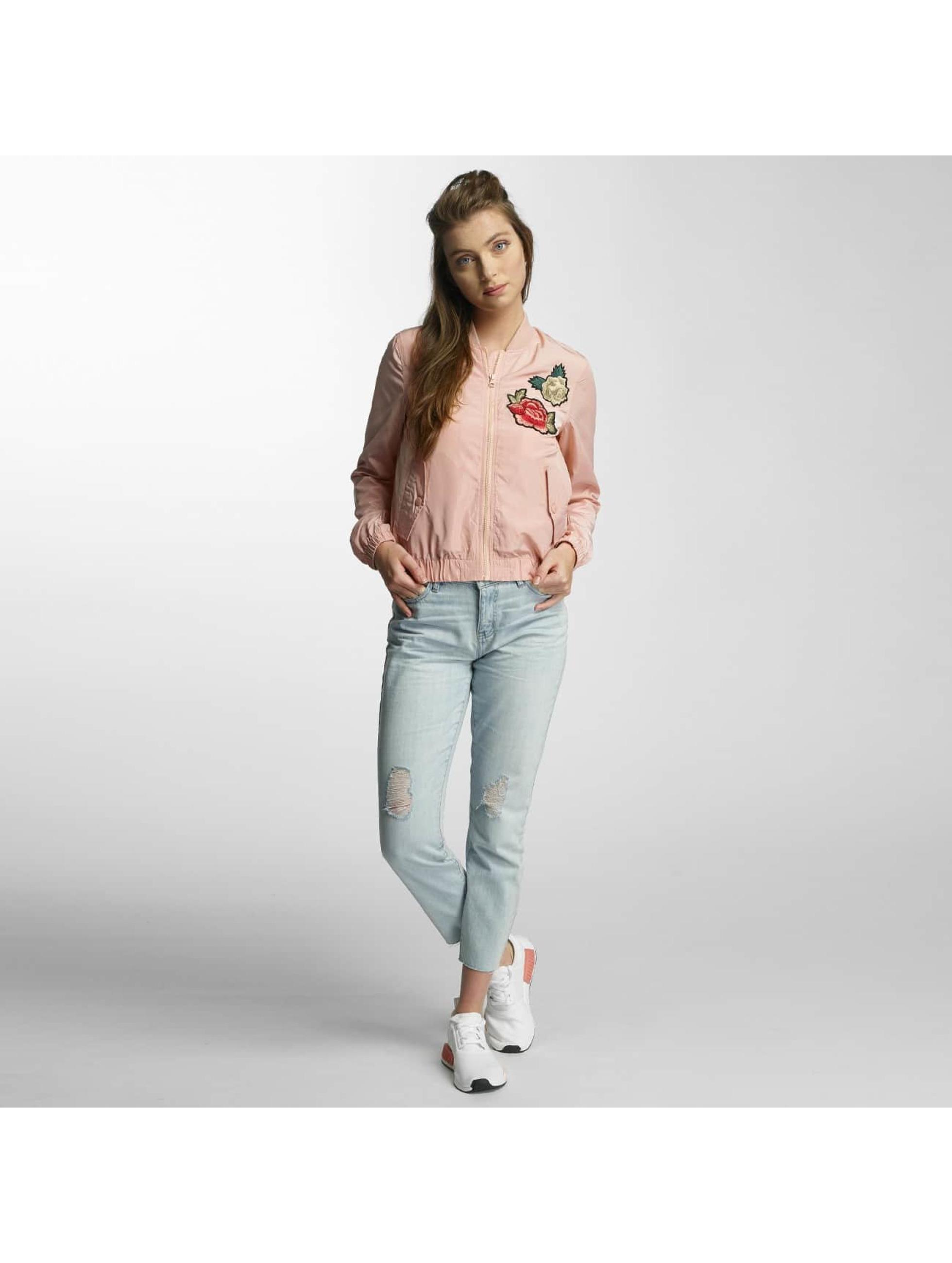 Vero Moda Куртка-бомбардир vmRose розовый