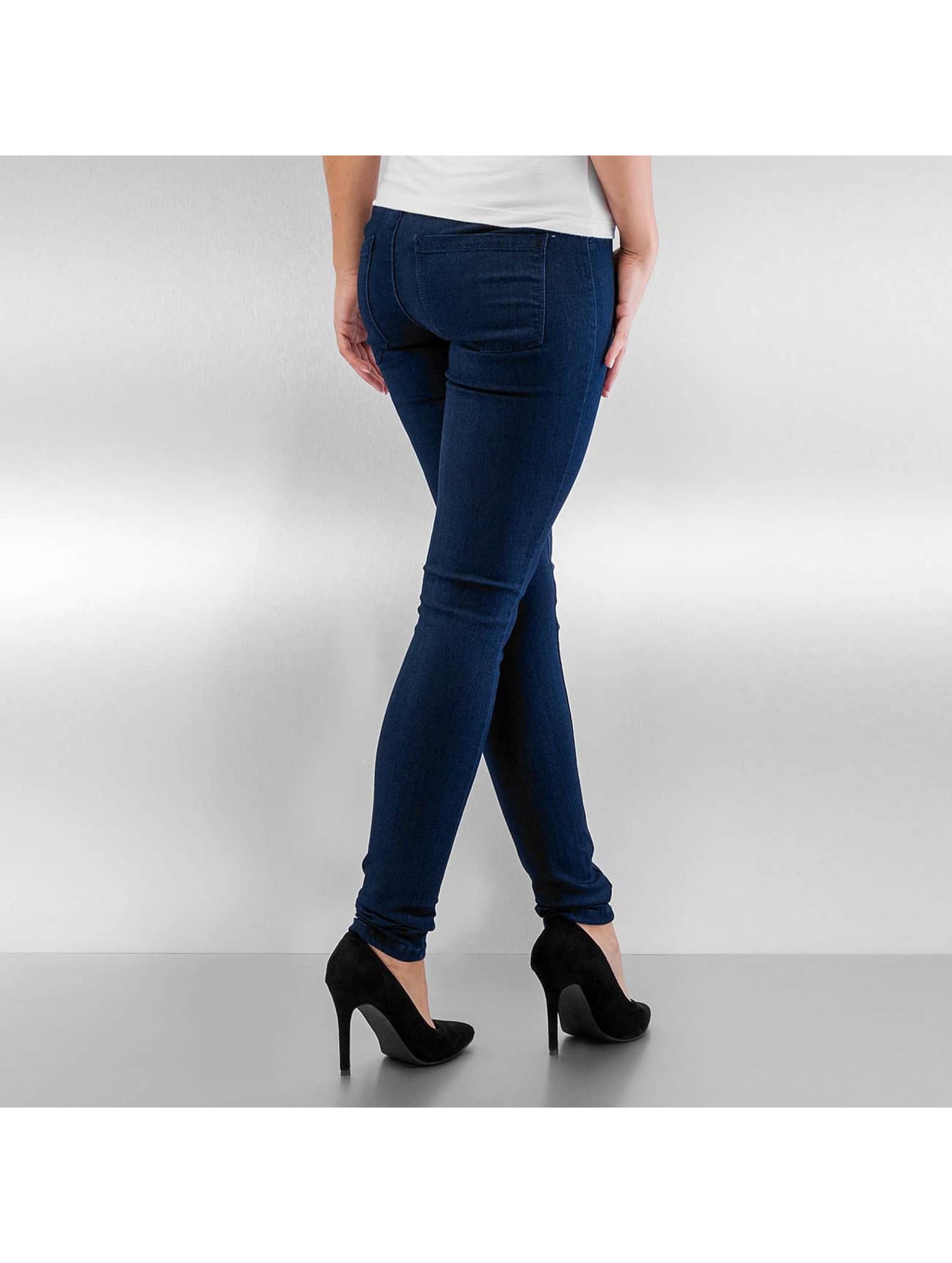 Vero Moda Облегающие джинсы VMFlex-It синий