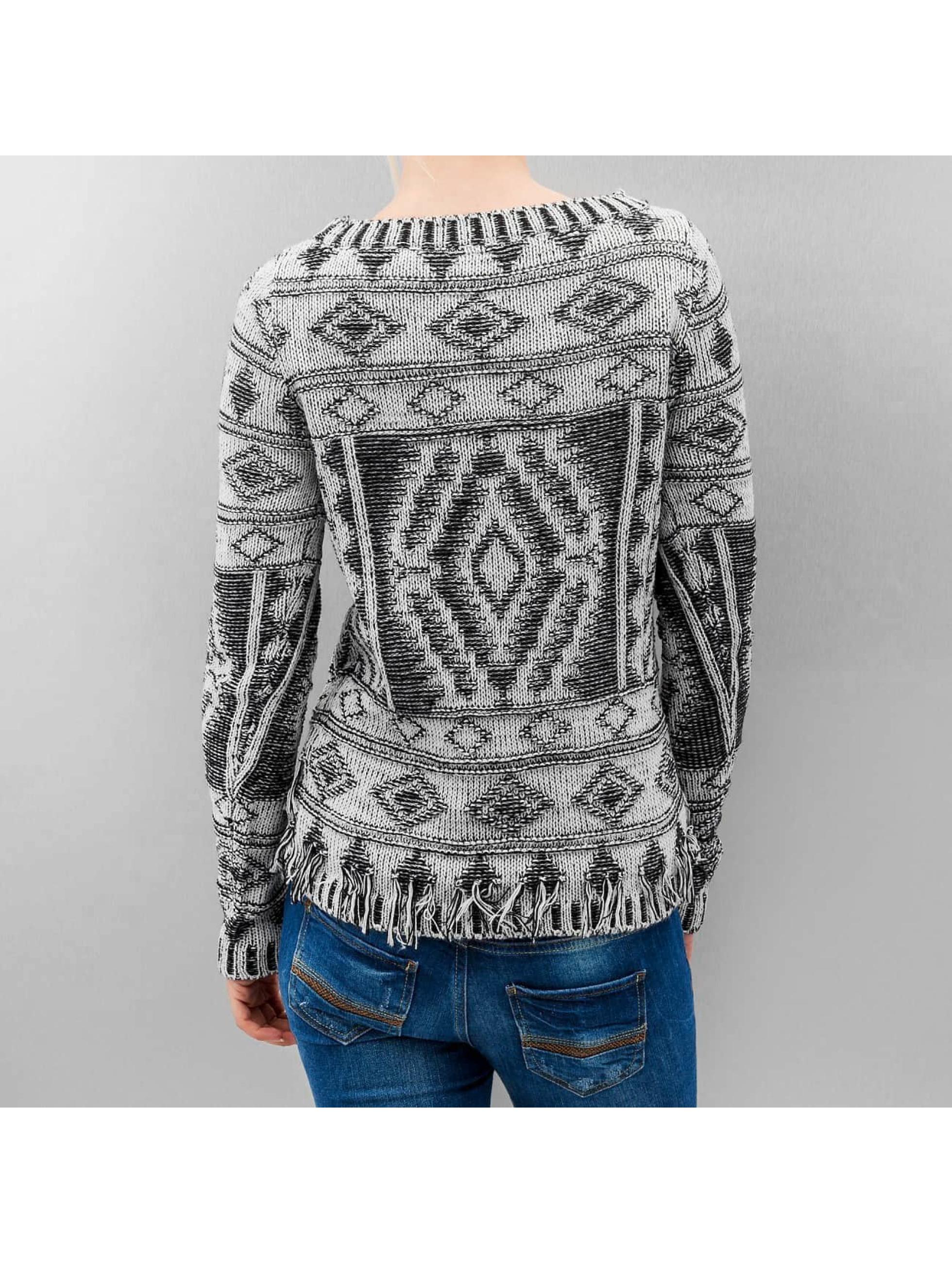 Vero Moda Пуловер vmMakayla Boatneck белый
