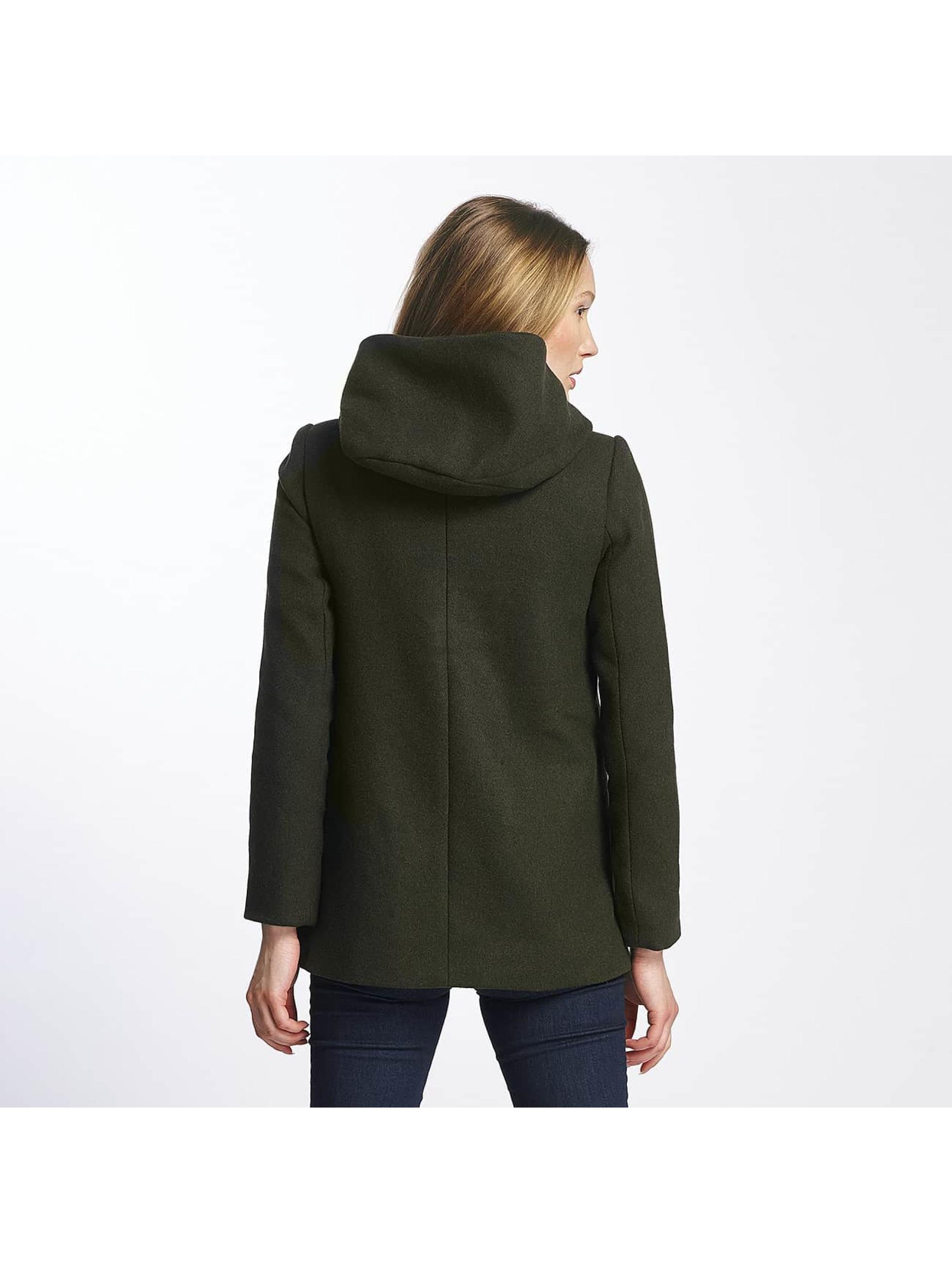 Vero Moda Abrigo vmCollar verde
