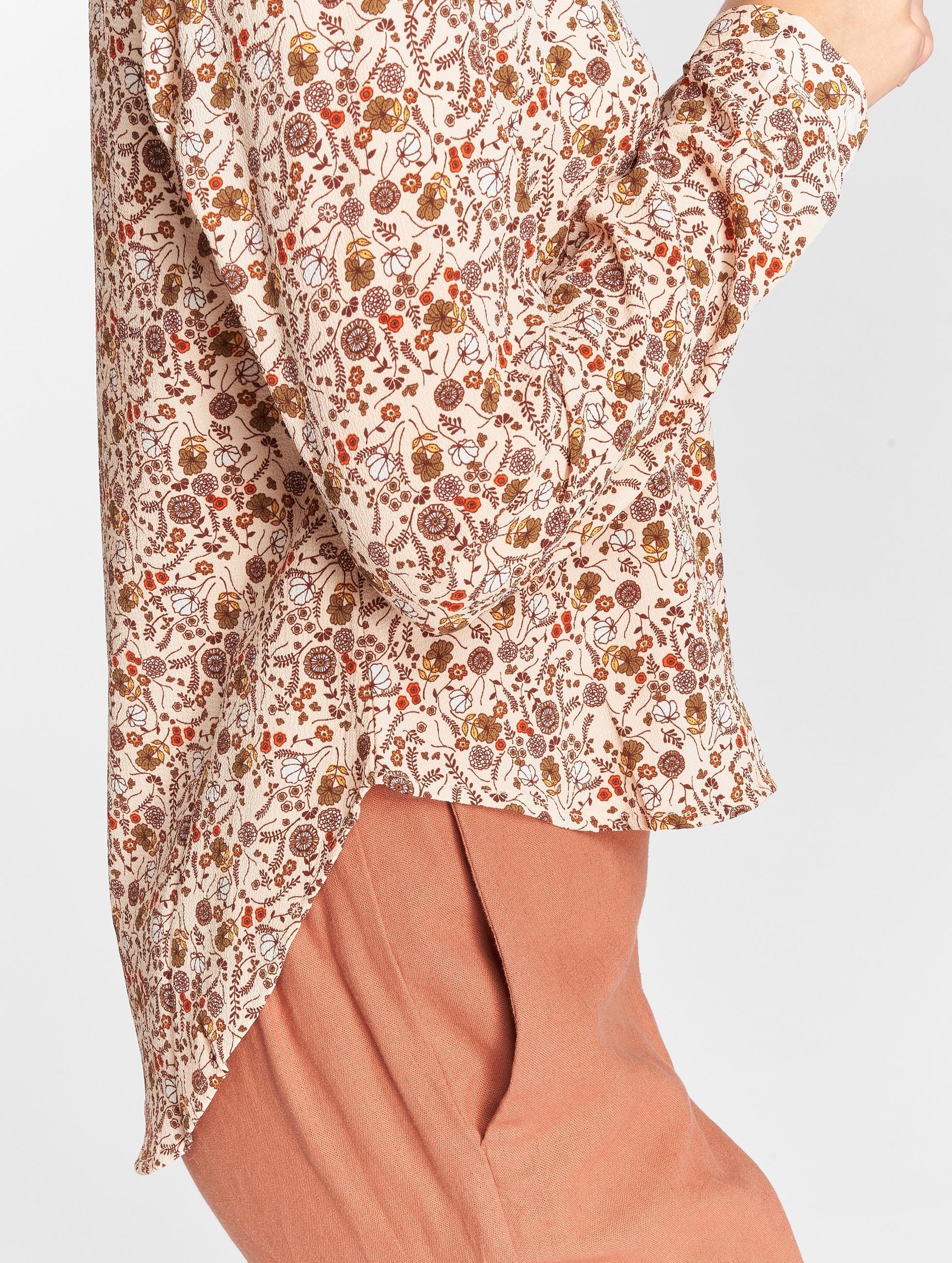 Vero Moda Blúzky/Tuniky vmFiona ružová