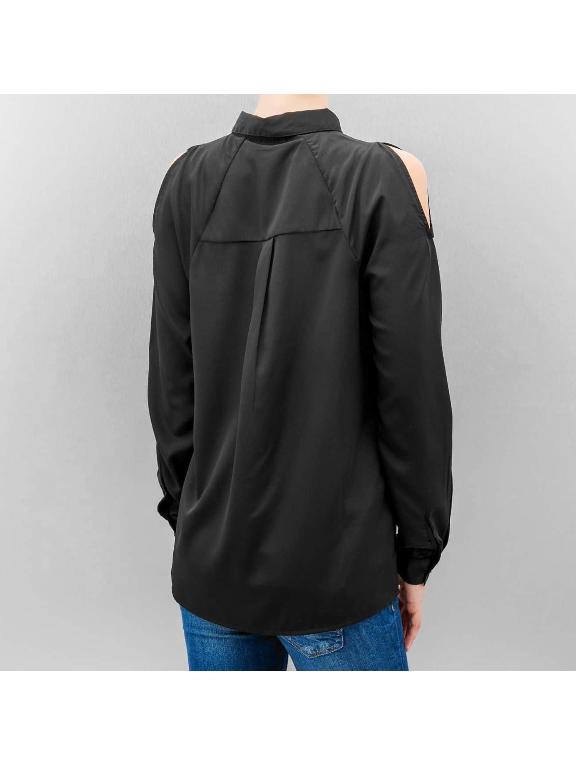 Vero Moda Blouse & Chemise vmNew Cold Shoulder noir