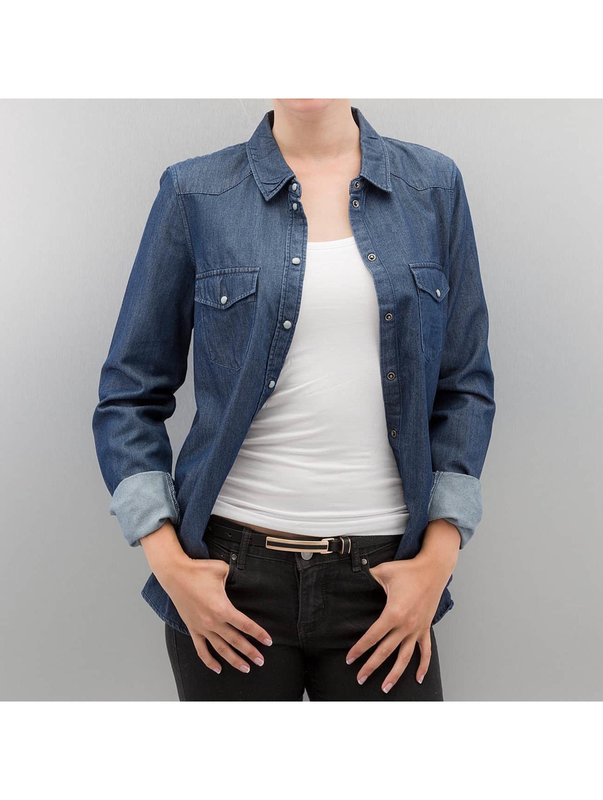 Vero Moda Bluse vmDaisy blau