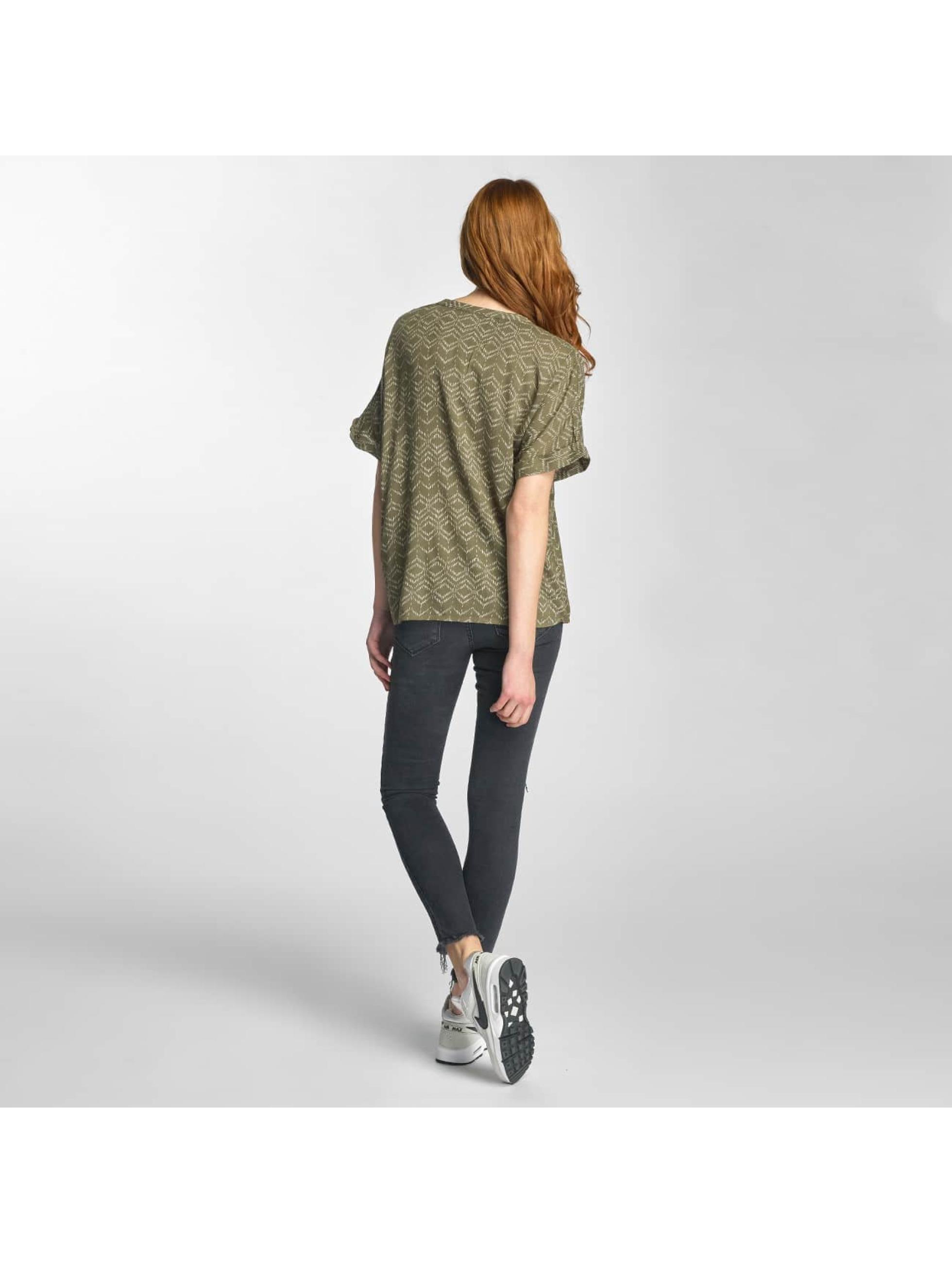 Vero Moda Bluse vmGina Mix Wide Midi grün