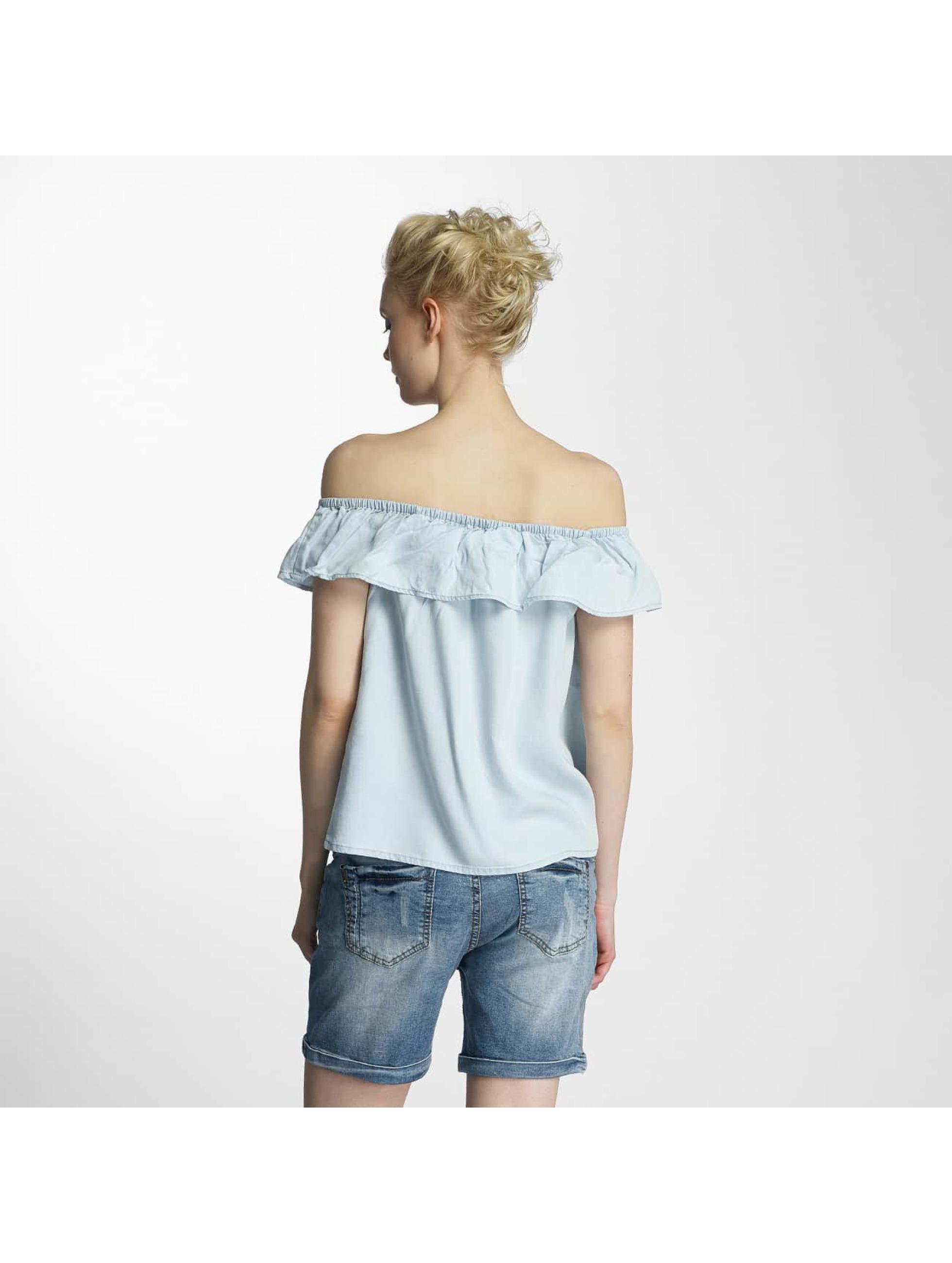 Vero Moda Bluzka/Tuniki vmKatinka niebieski