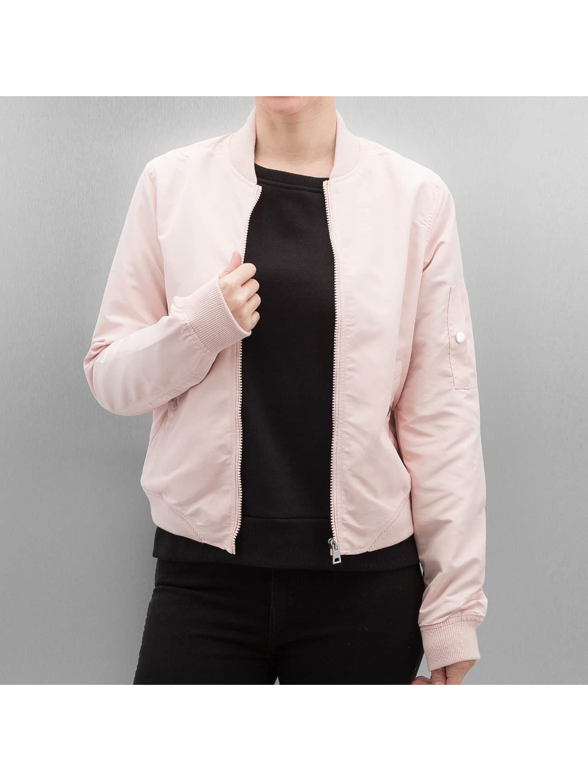 vero moda damen bomberjacke cmdicte spring in rosa 296061. Black Bedroom Furniture Sets. Home Design Ideas