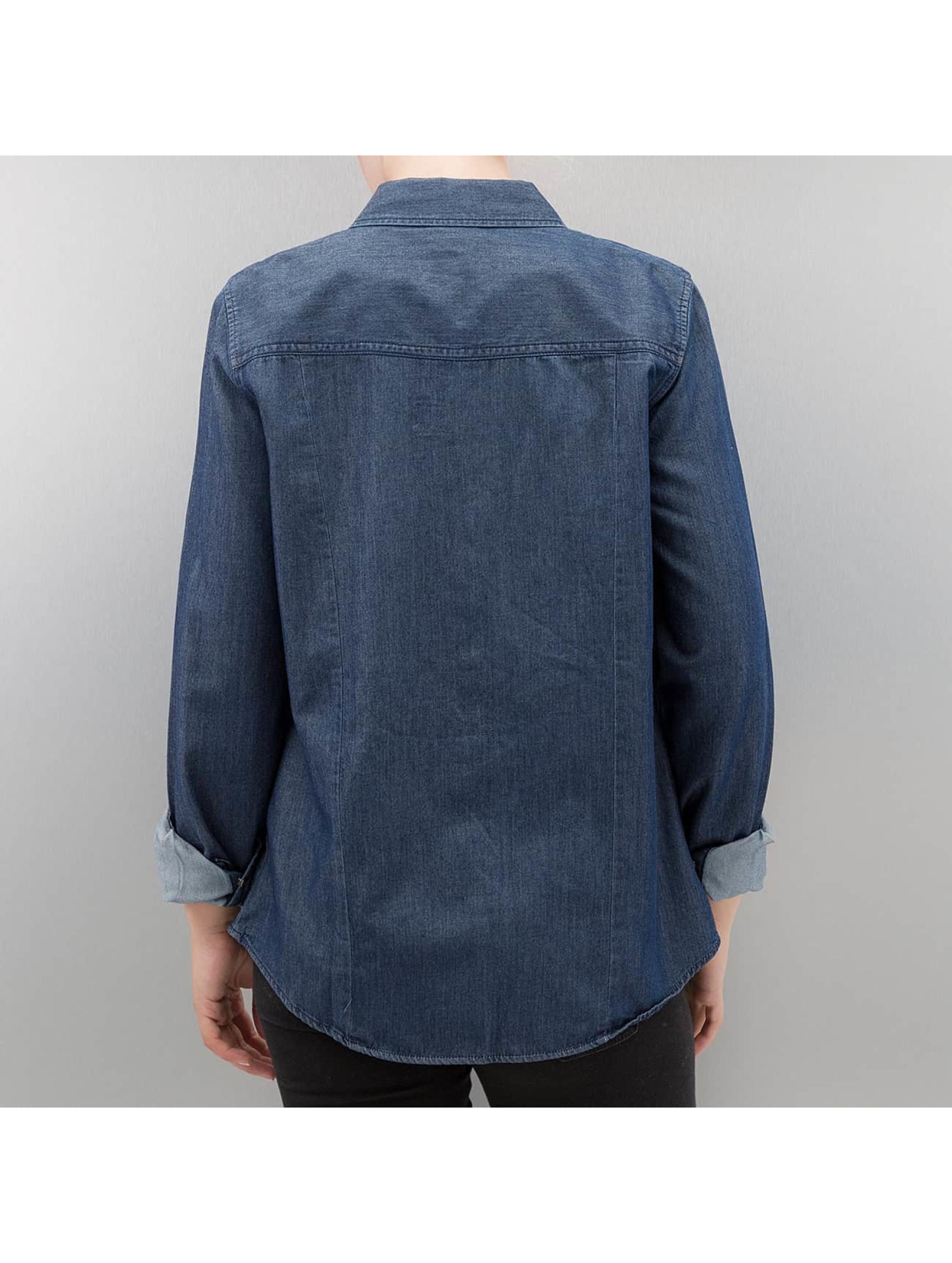 Vero Moda Camicia/Blusa vmDaisy blu