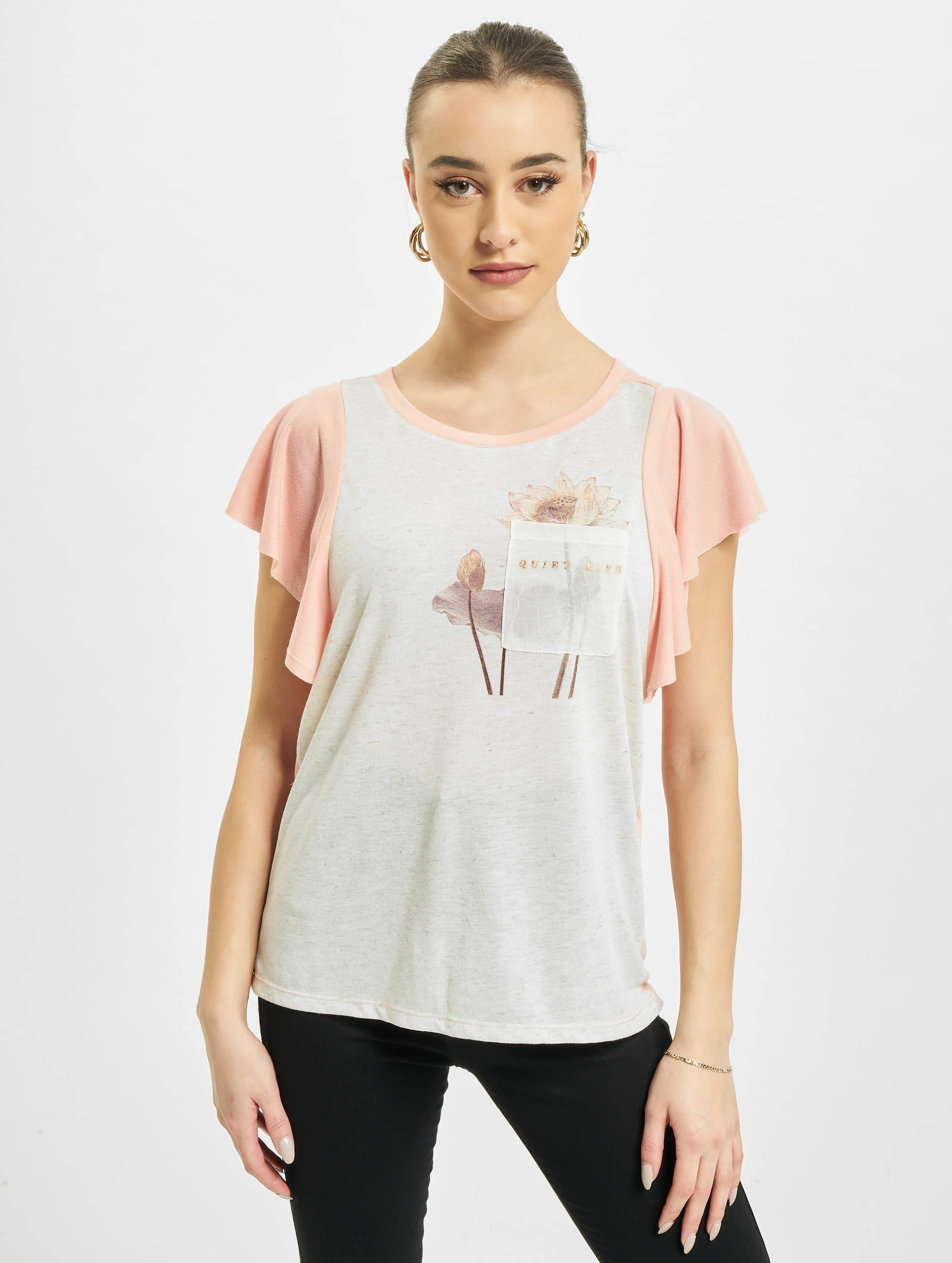 Vero Moda Camiseta vmLife rosa