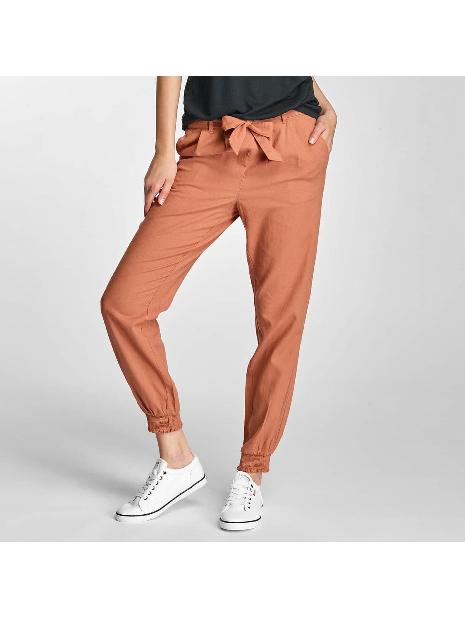 Vero Moda Pantalon / Chino VMMilo-Citrus en brun