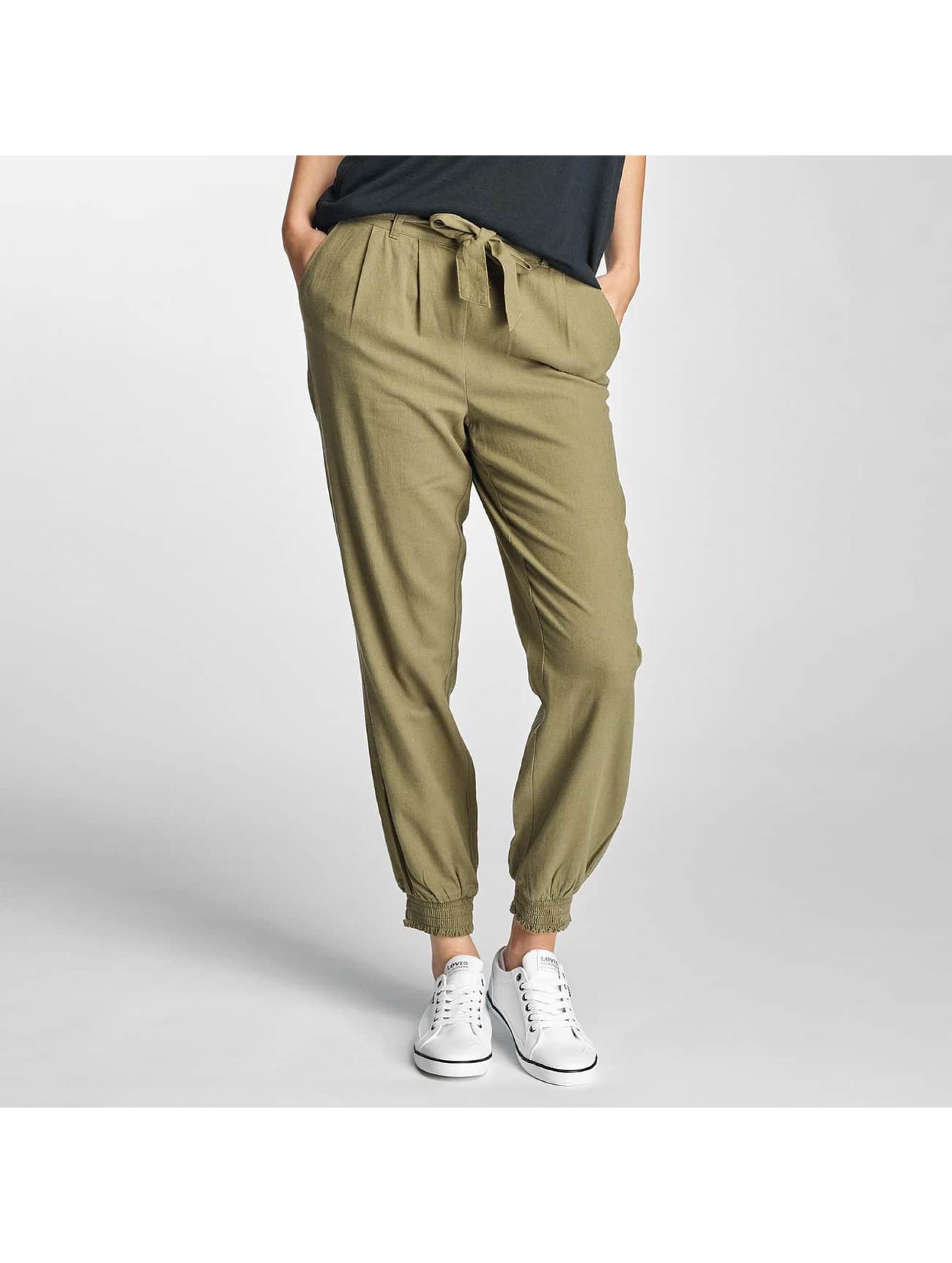 Vero Moda Pantalon / Chino VMMilo-Citrus en vert