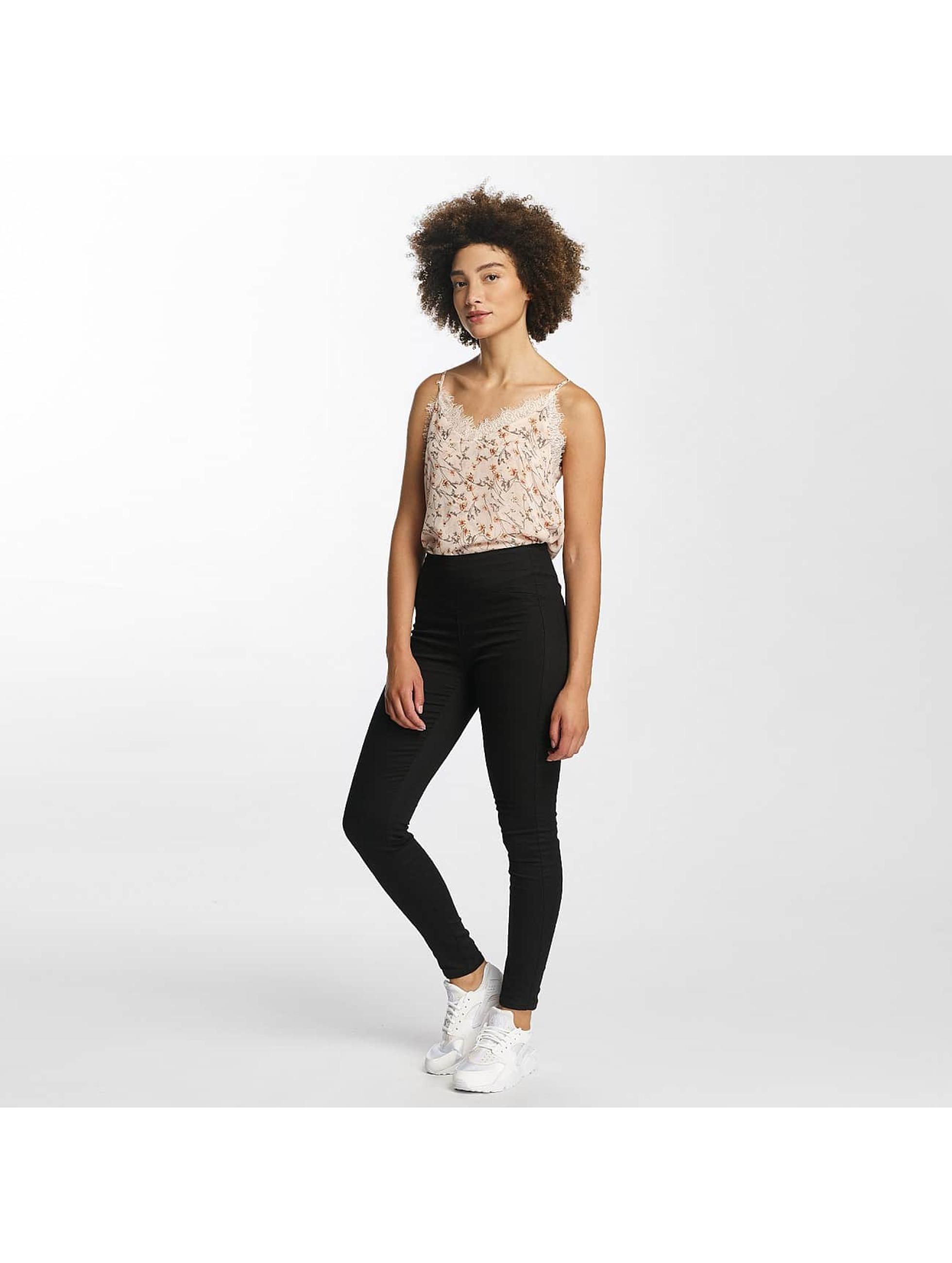 Vero Moda dżinsy z wysoką talią vmHot czarny