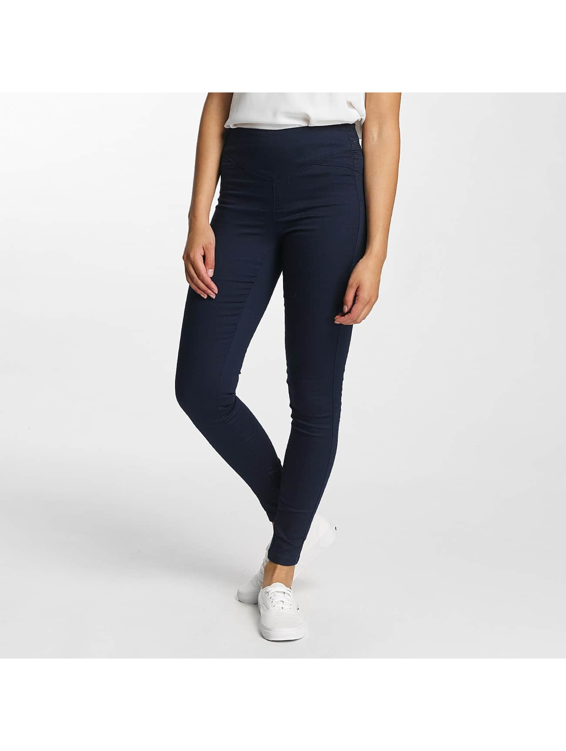 Vero Moda dżinsy z wysoką talią vmHot Slim niebieski