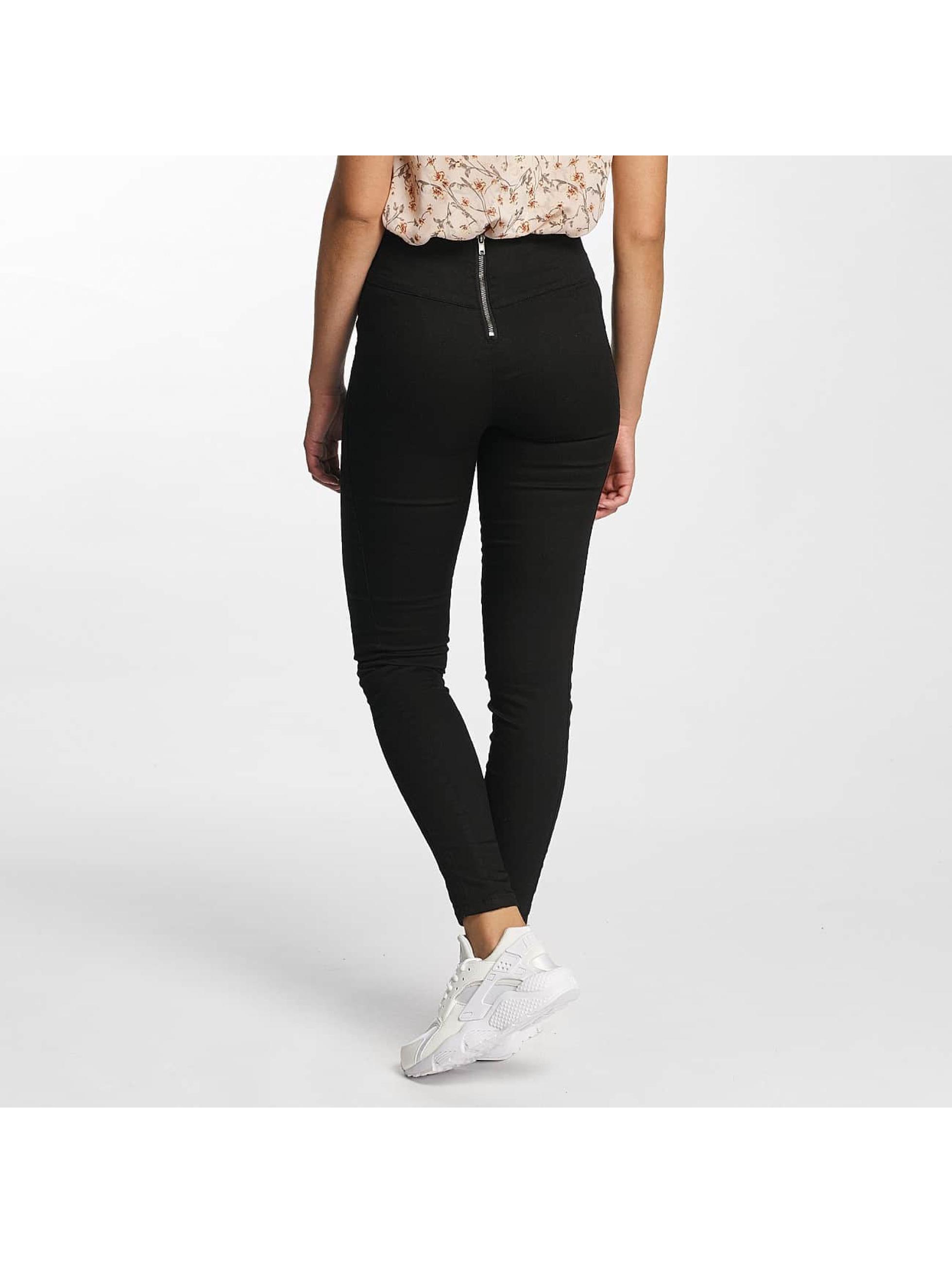 Vero Moda High Waist Jeans vmHot schwarz