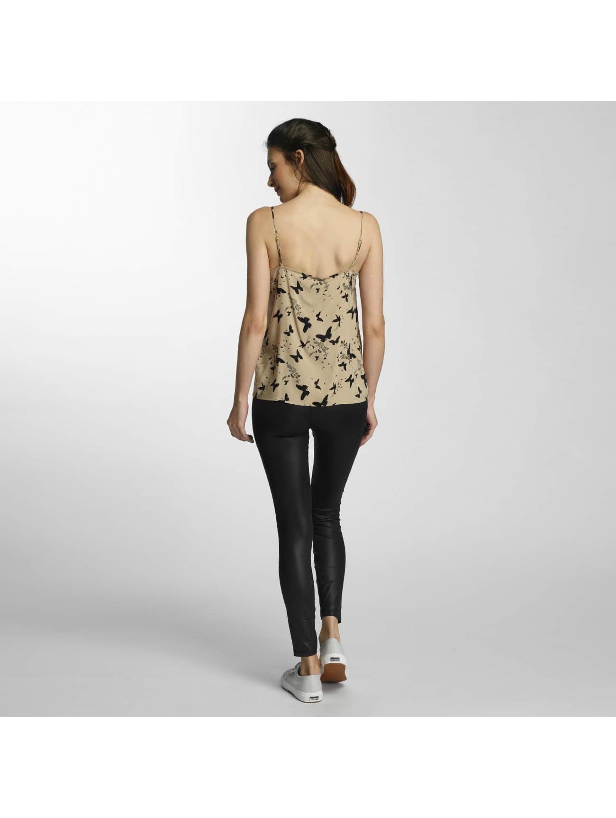 Vero Moda Hihattomat paidat vmNow beige