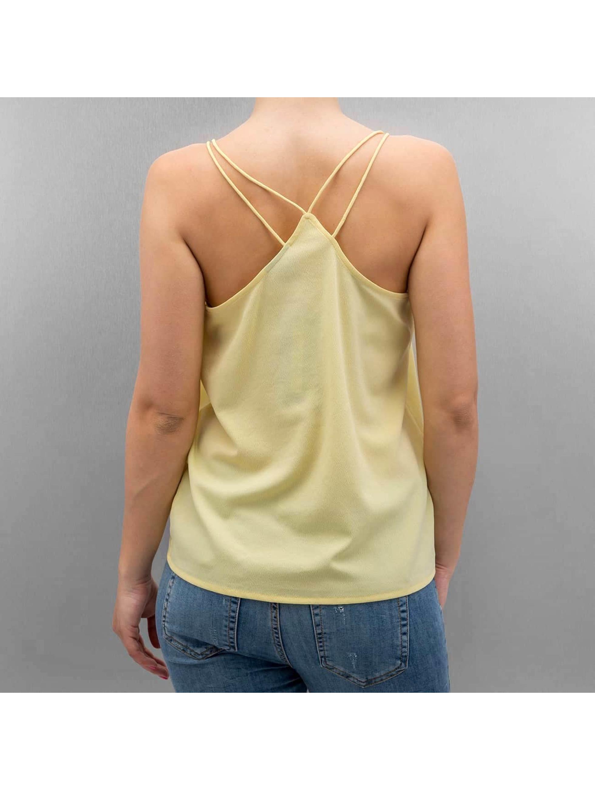 Vero Moda Hihattomat paidat vmDigi keltainen