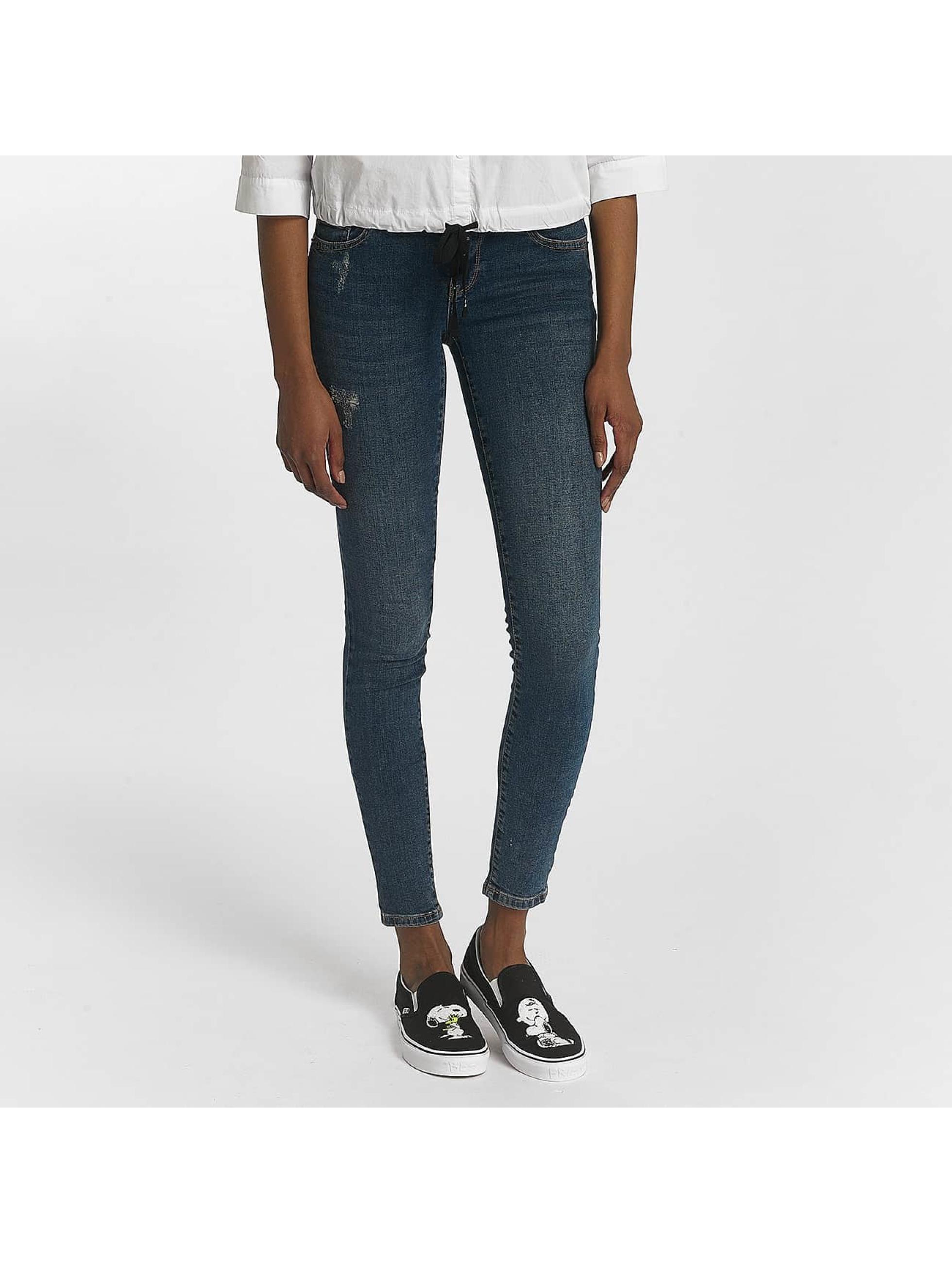 Vero Moda Jean skinny vmFive bleu
