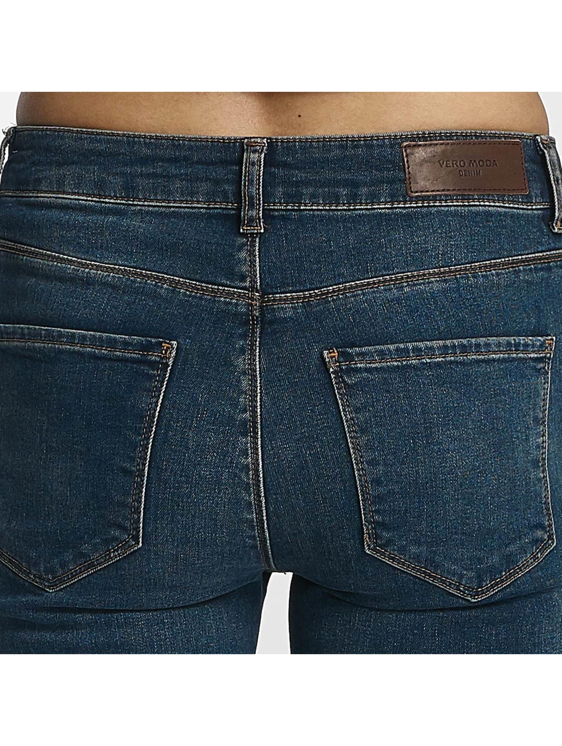 Vero Moda Jeans ajustado vmSeven Super Slim azul