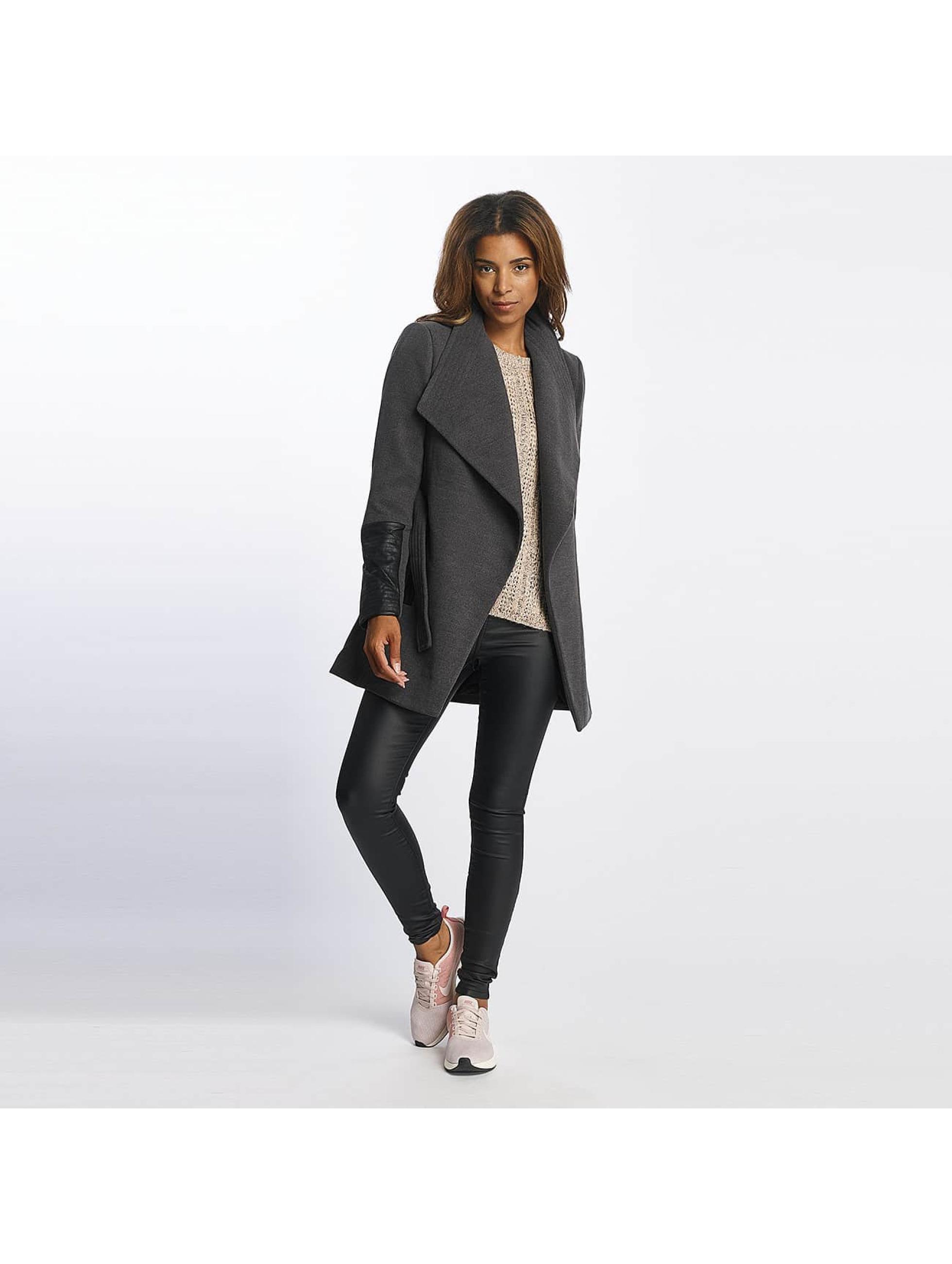 Vero Moda Kabáty vmCala šedá