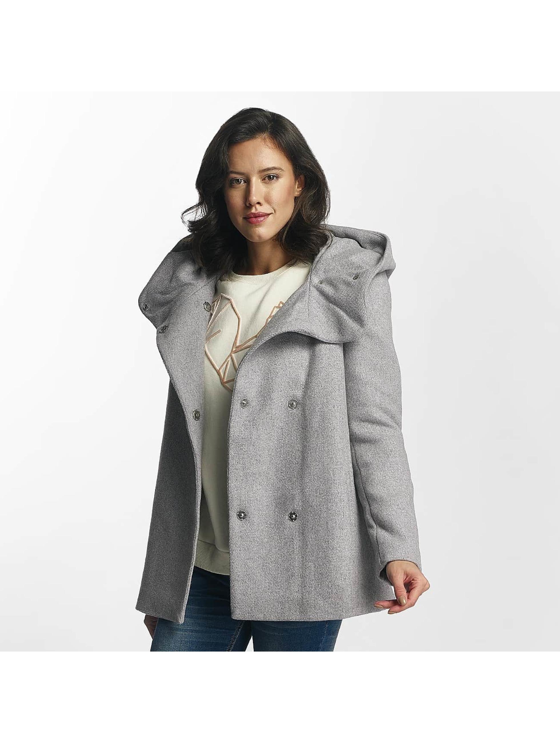 Vero Moda Kabáty vmCollar Wool šedá