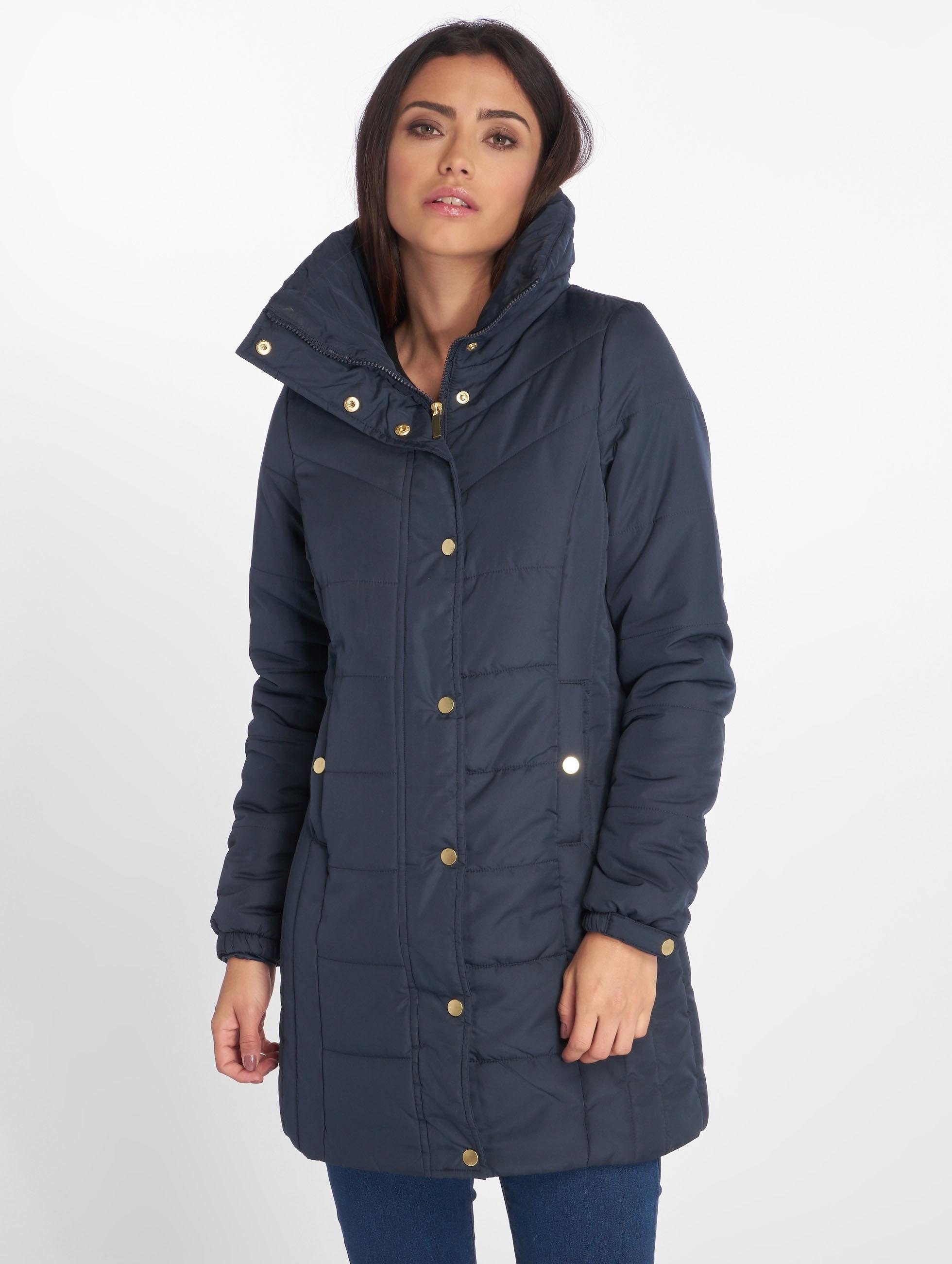 Vero Moda Kabáty vmPapette modrá