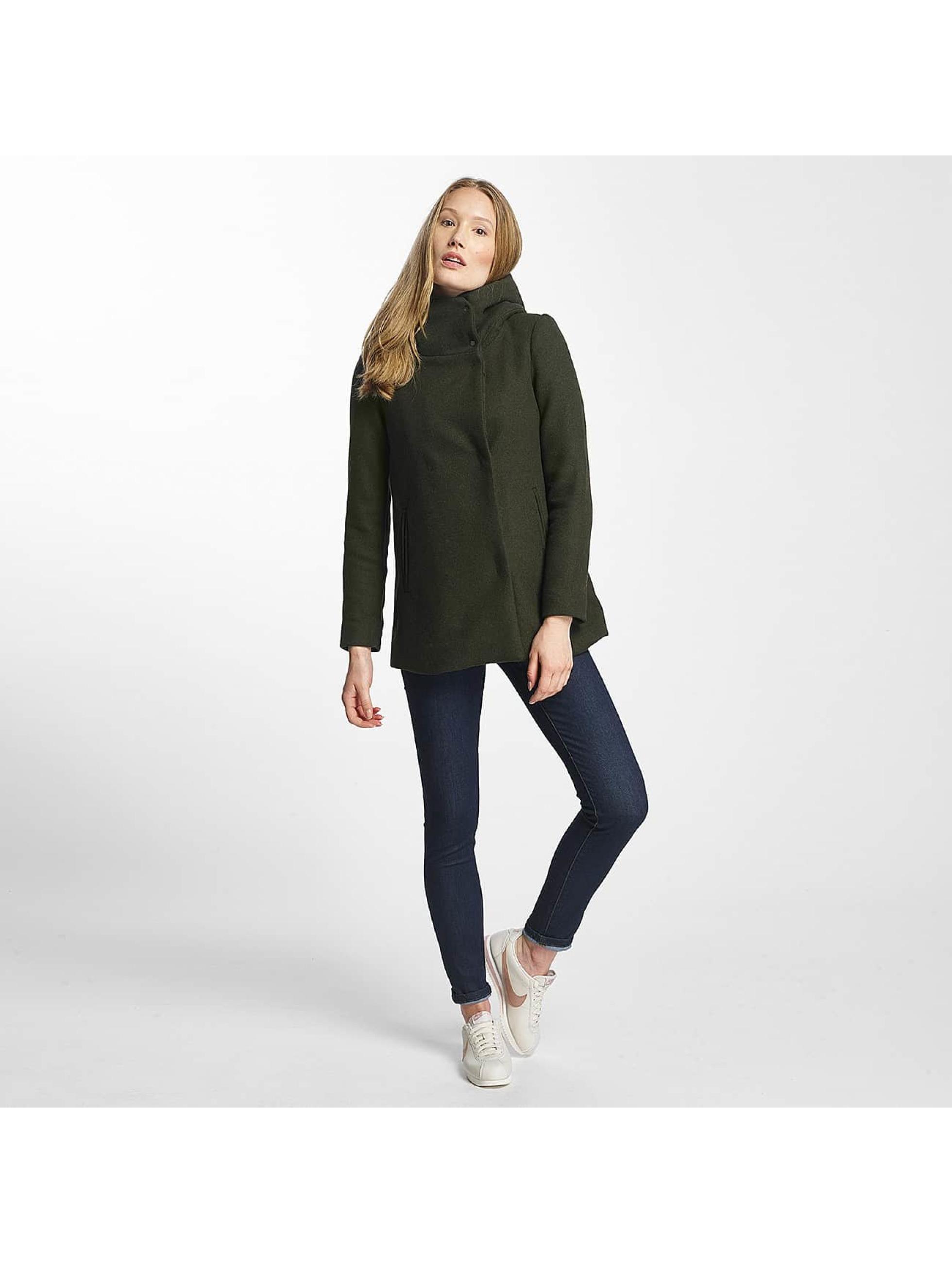 Vero Moda Kabáty vmCollar zelená