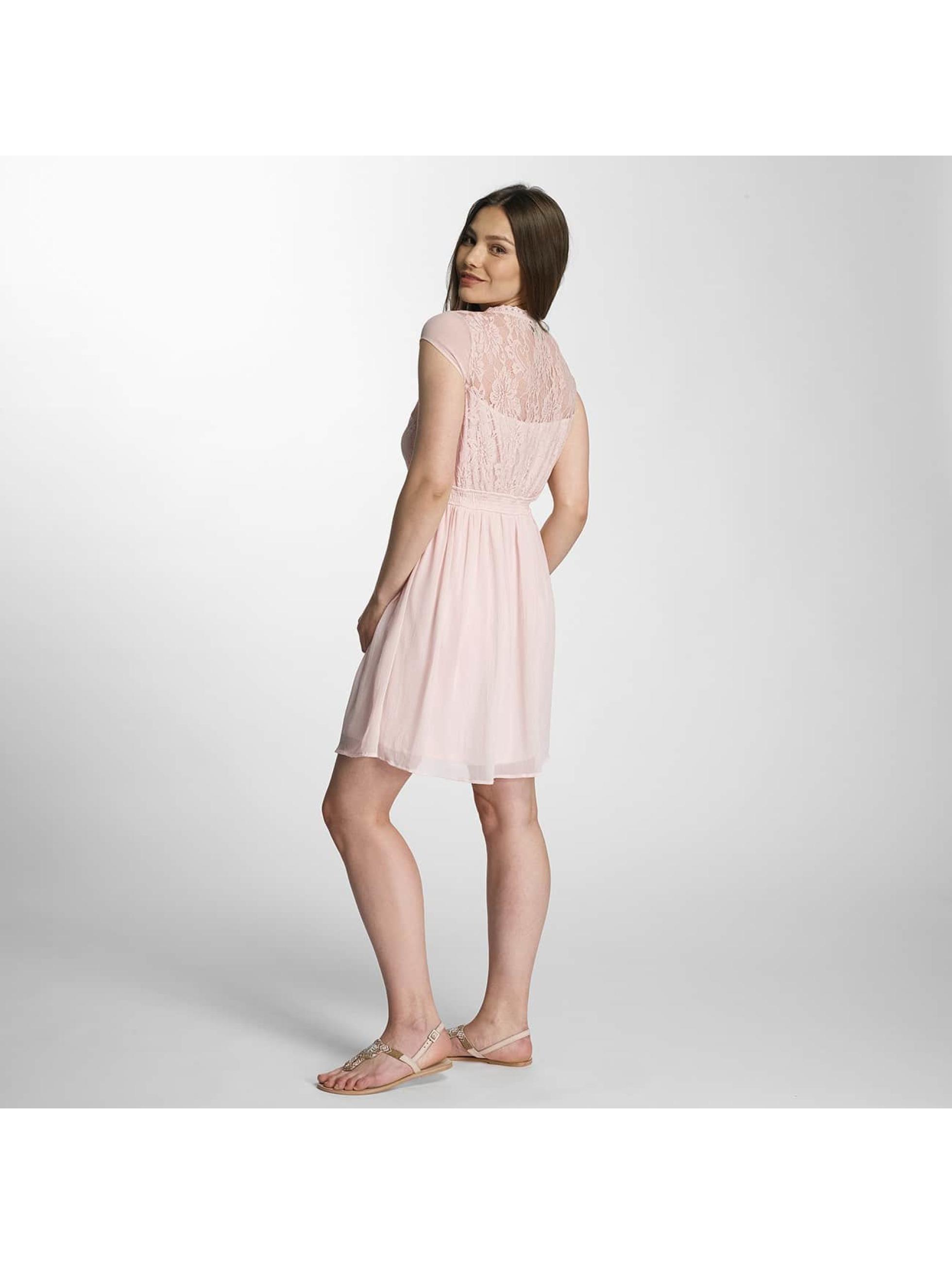vero moda damen kleid vmanca in rosa 325460. Black Bedroom Furniture Sets. Home Design Ideas