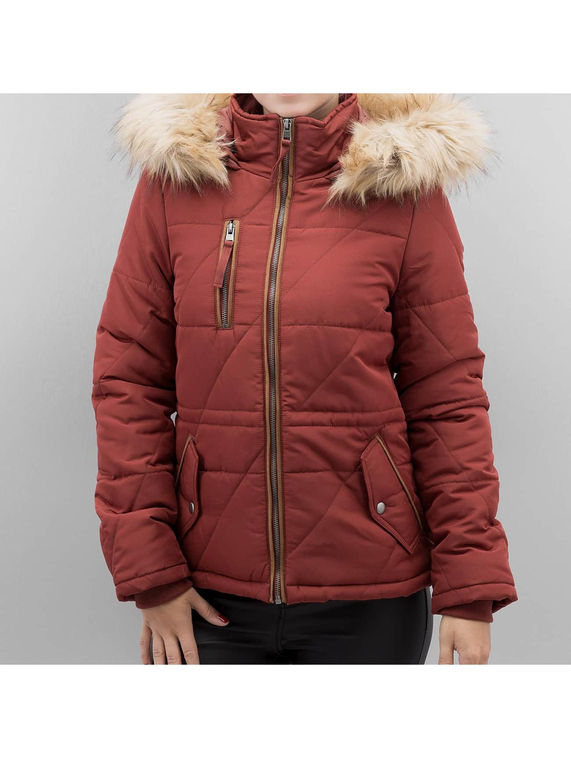 Vero Moda Kurtki zimowe vmIlka czerwony