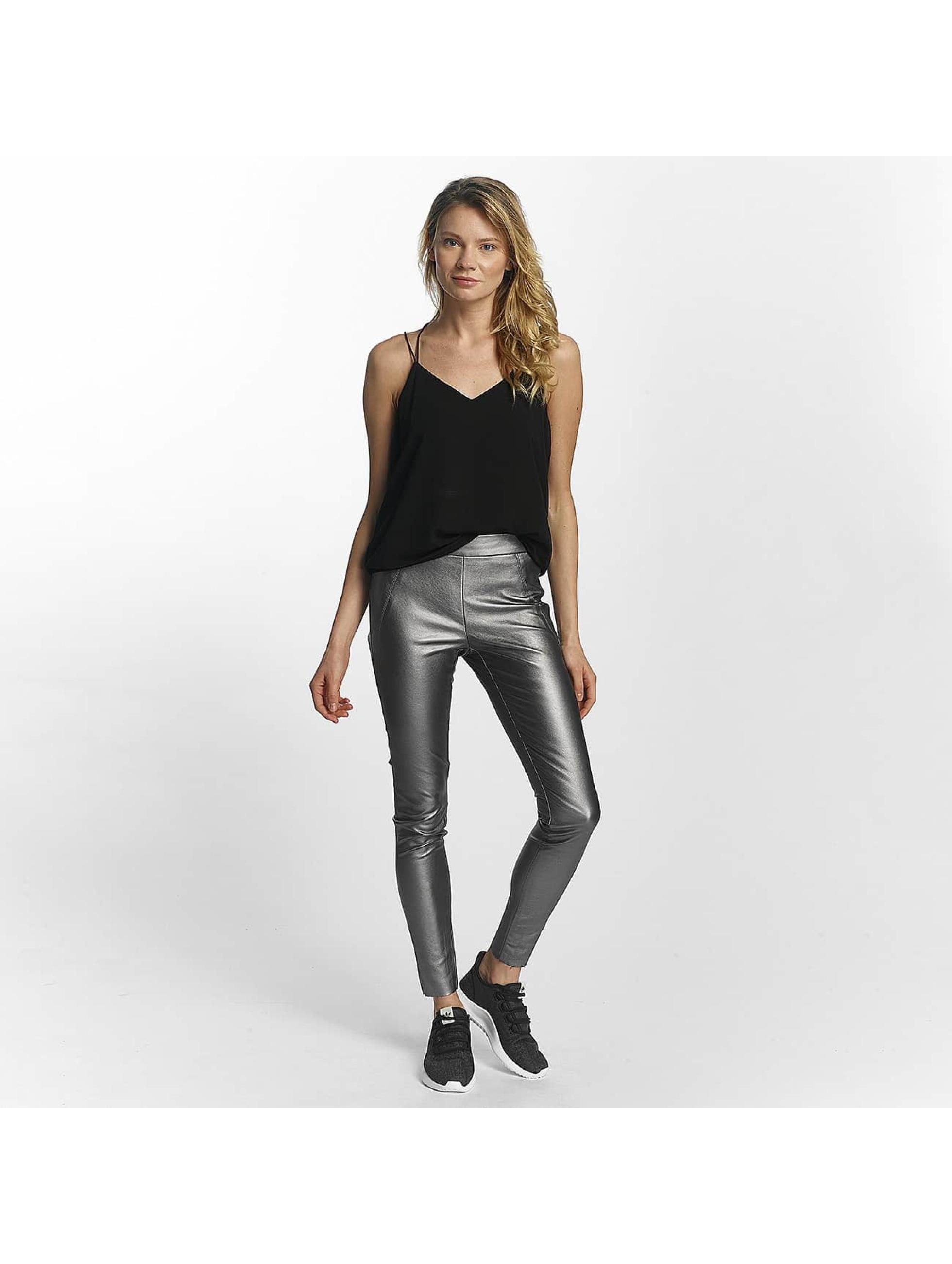 Vero Moda Legging vmSevena Slim Metal silberfarben