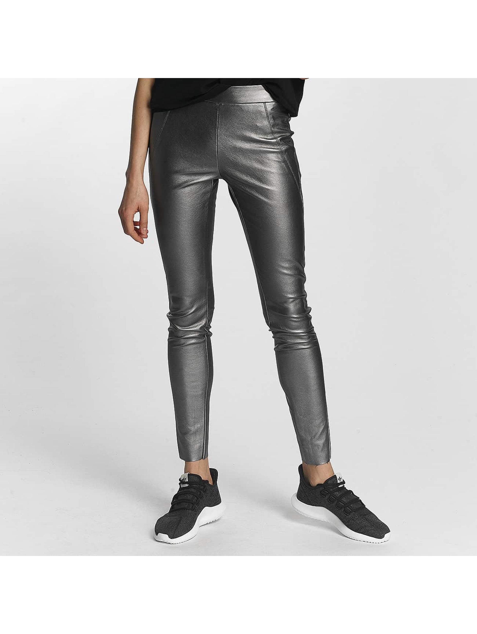 Vero Moda Leggings/Treggings vmSevena Slim Metal sølv