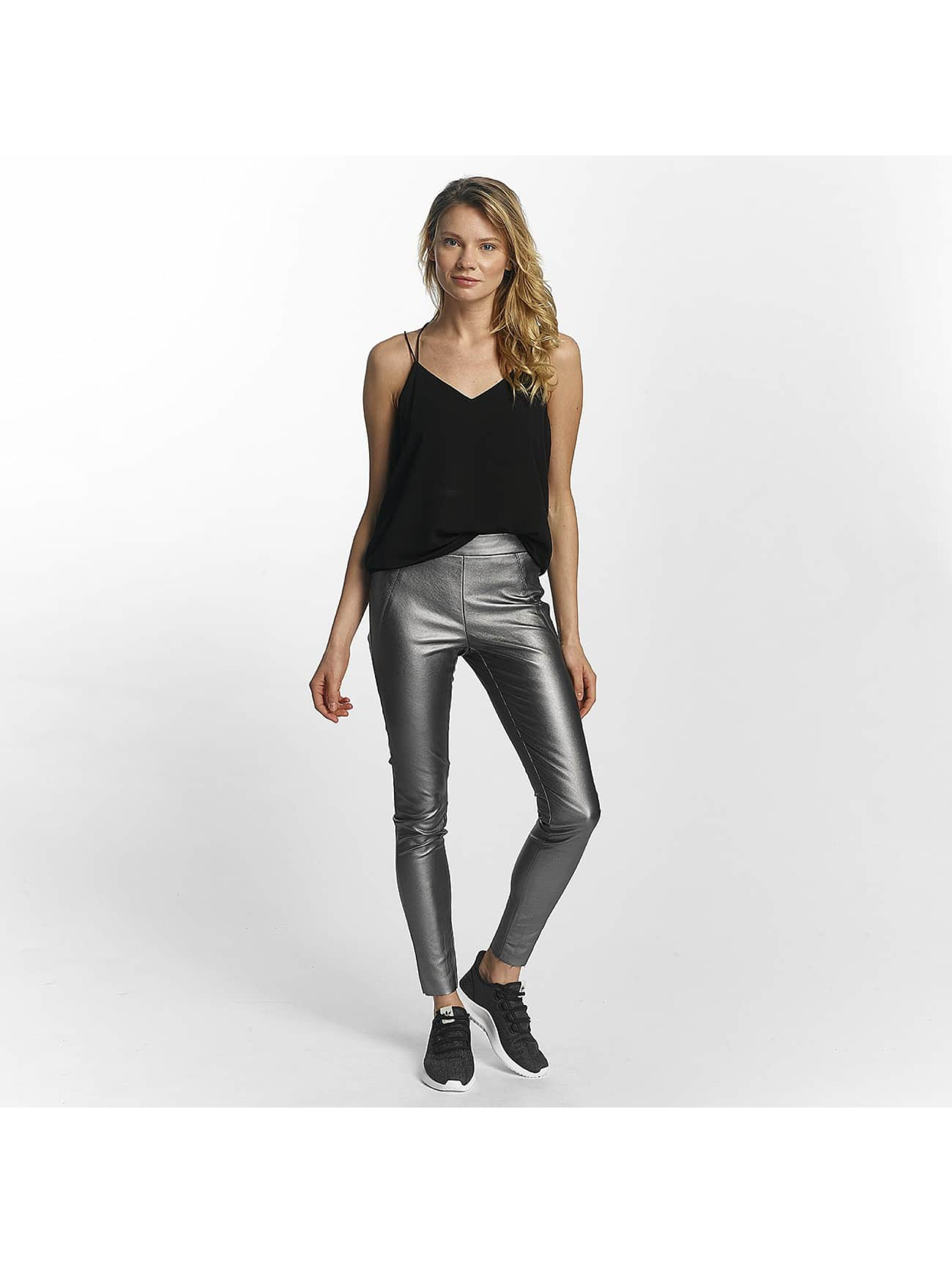 Vero Moda Leggings/Treggings vmSevena Slim Metal silver