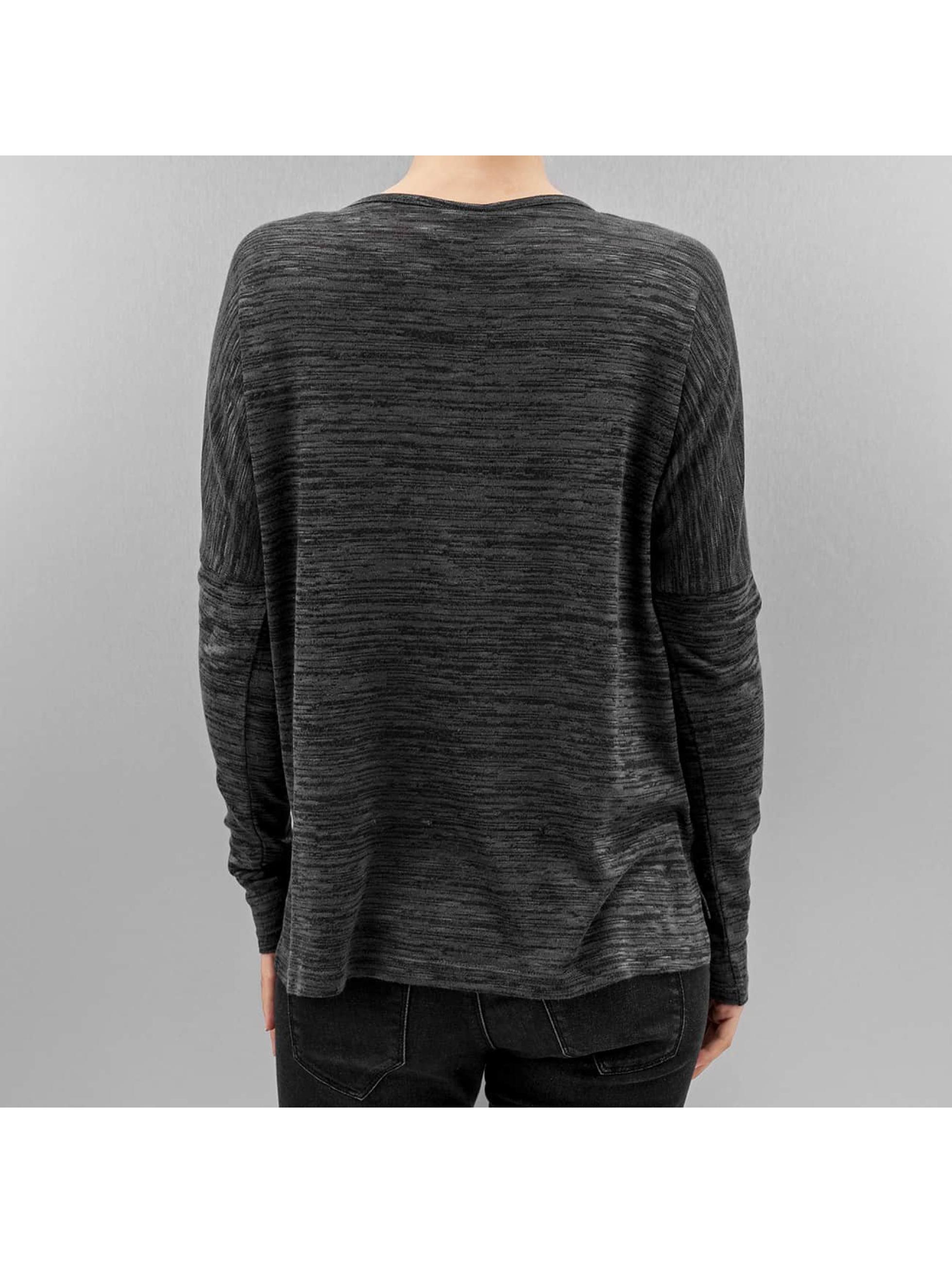 Vero Moda Maglietta a manica lunga vmSabisanne nero