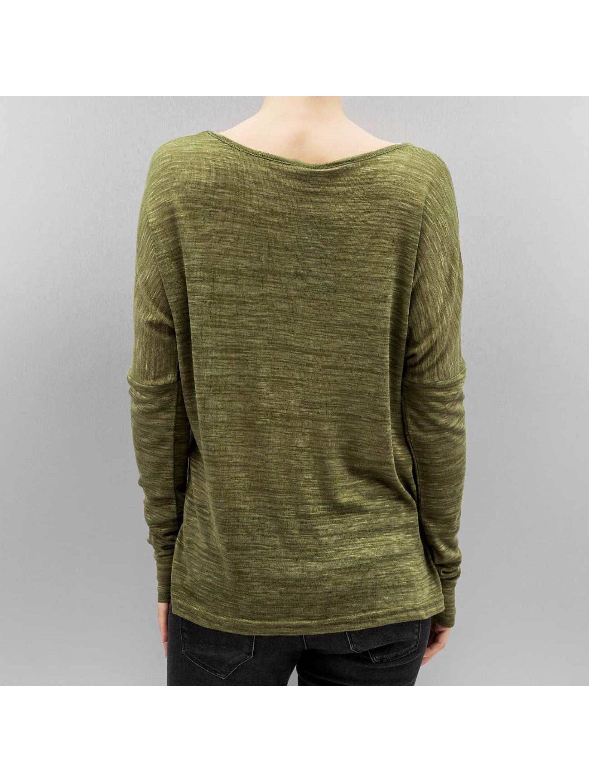 Vero Moda Maglietta a manica lunga vmSabisanne verde