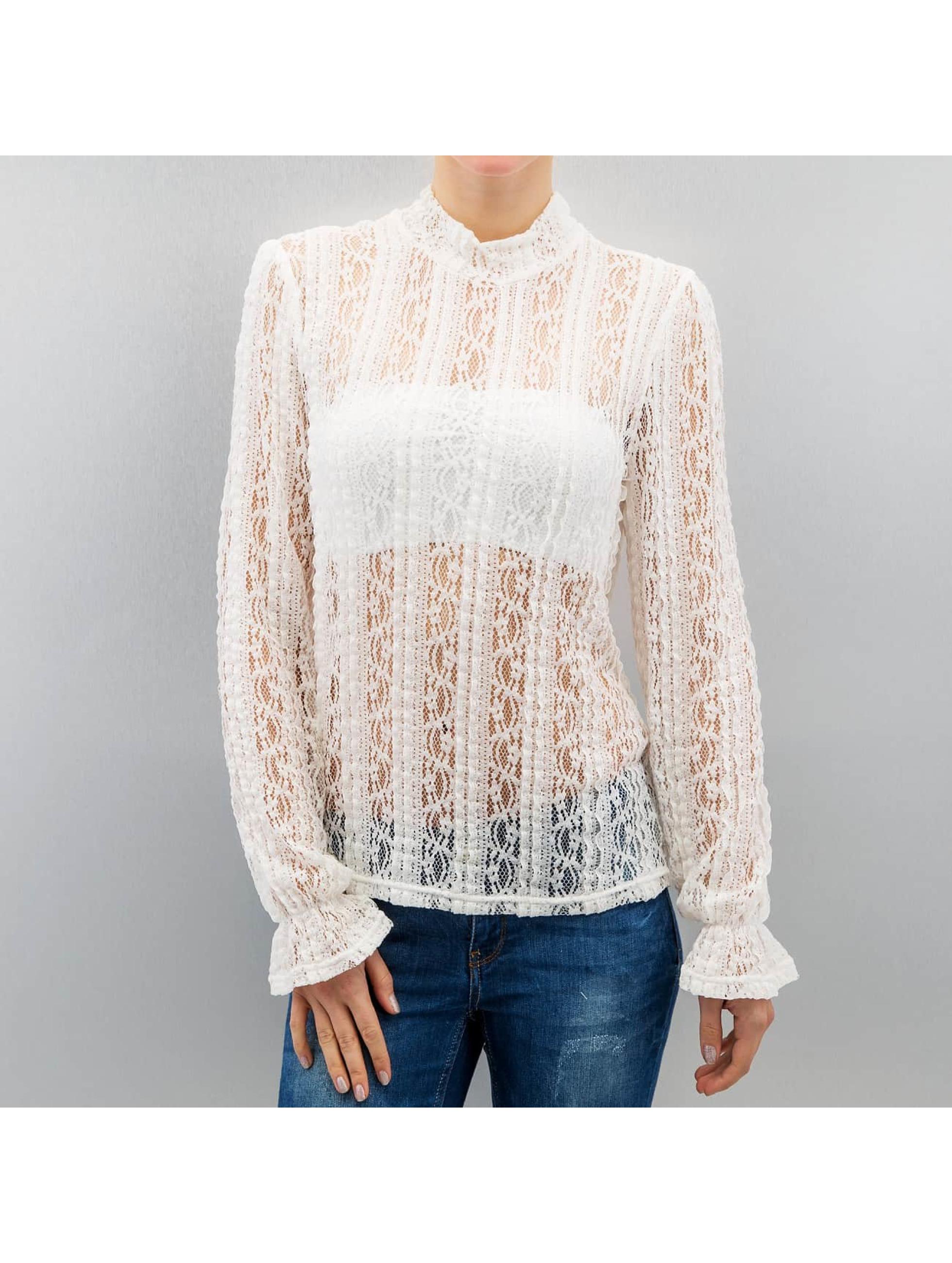 Vero Moda Pitkähihaiset paidat vmBibbi valkoinen