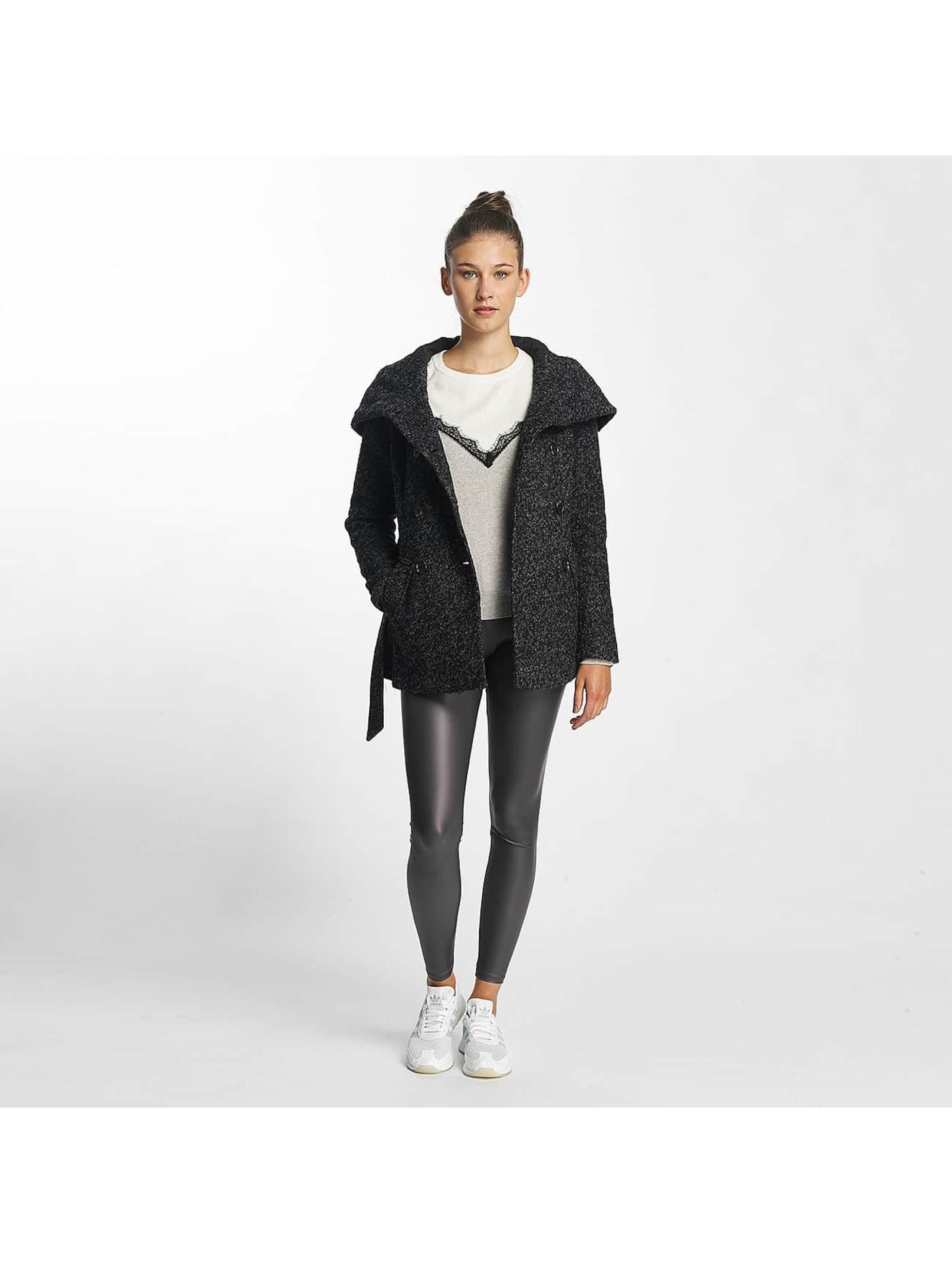 Vero Moda Prechodné vetrovky vmMunich Loop Wool šedá