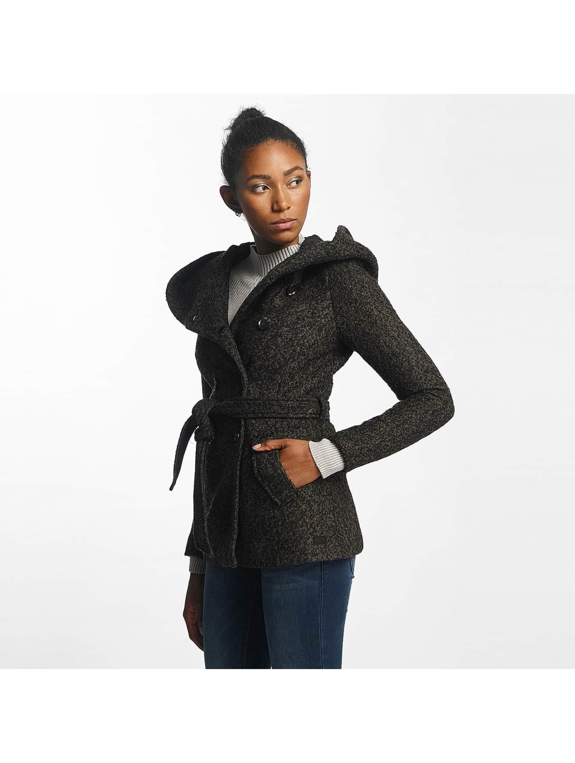 Vero Moda Prechodné vetrovky vmMunich Loop Wool olivová