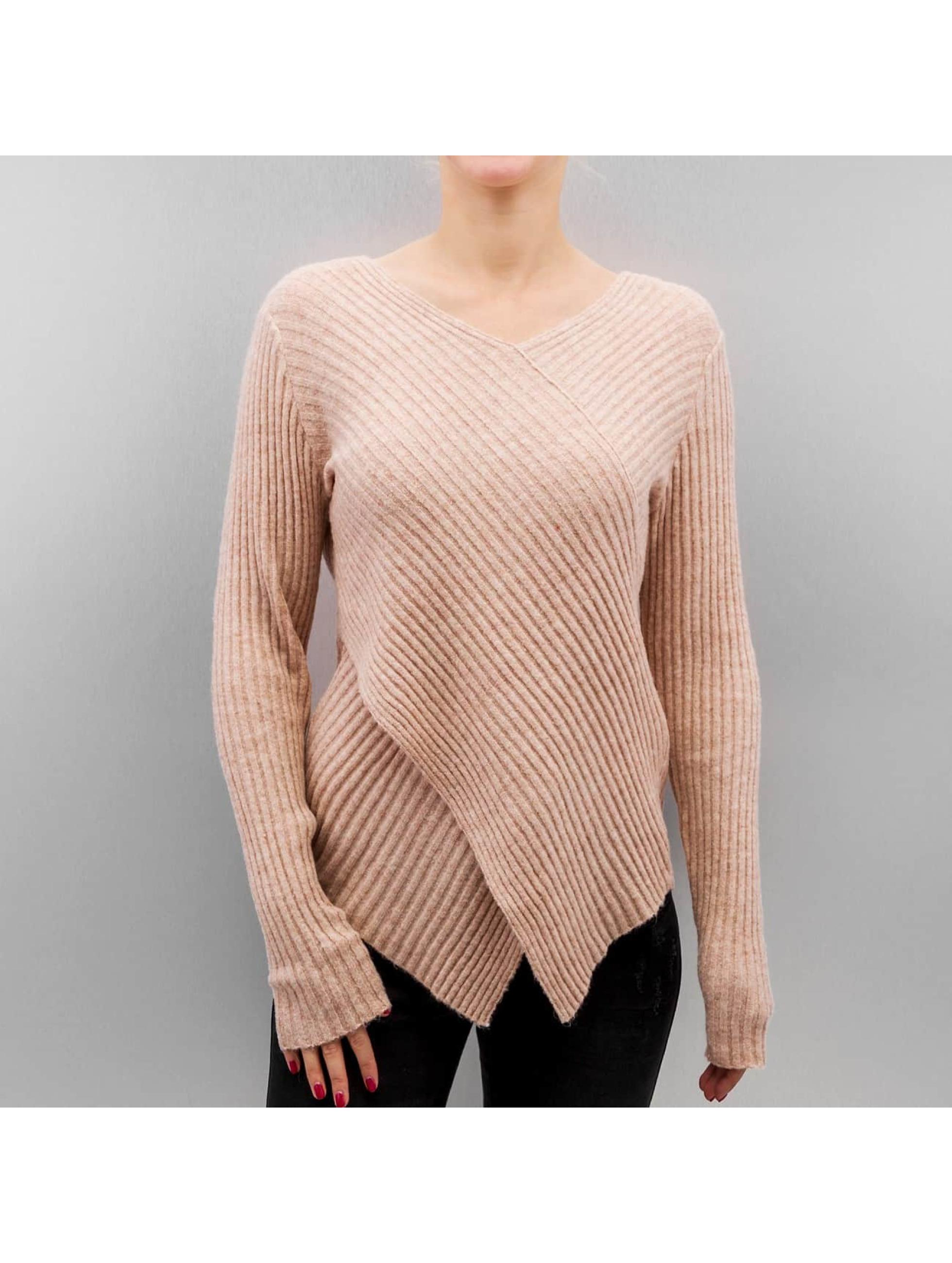 Vero Moda Haut / Pullover vmAnny en brun