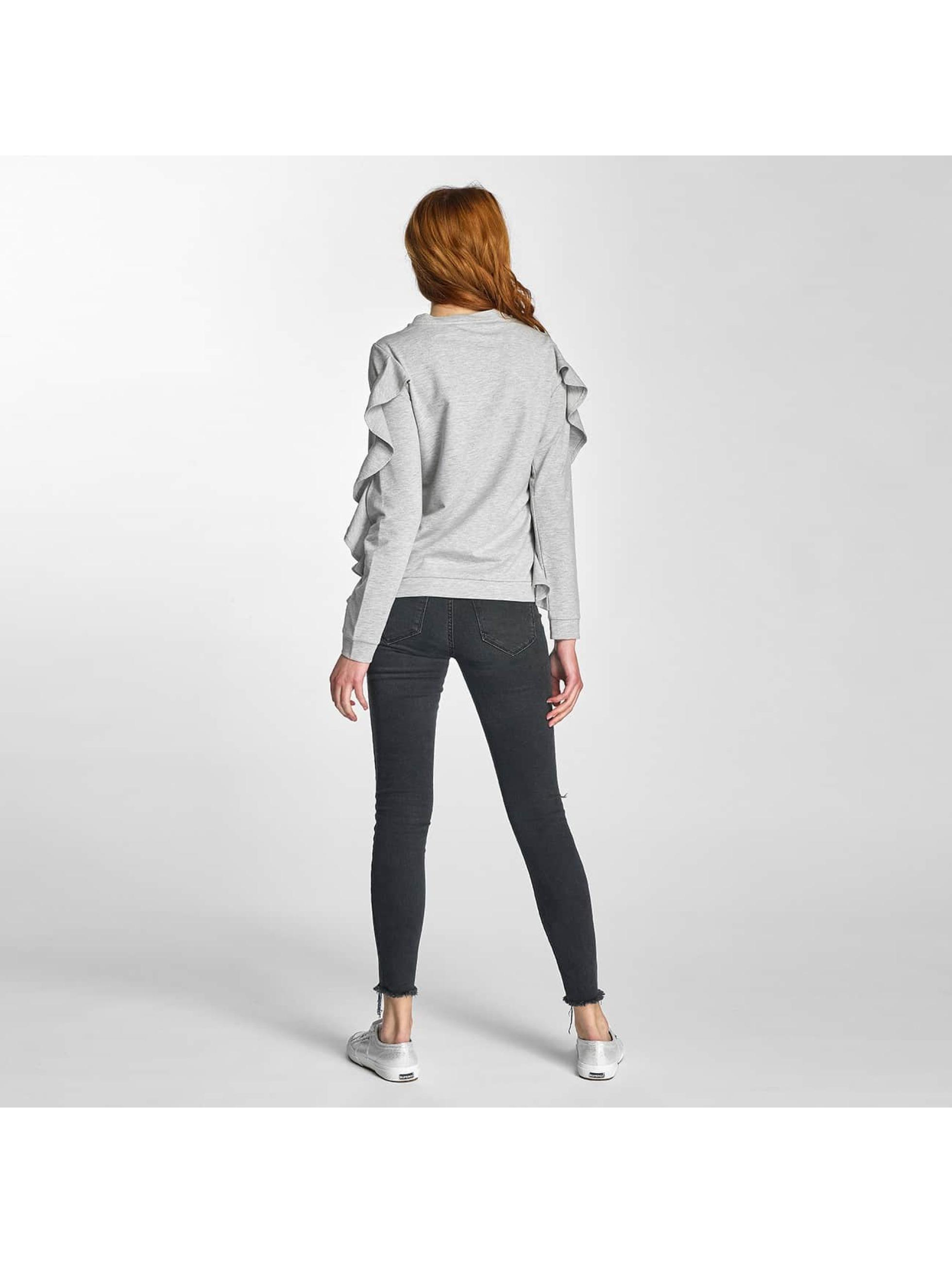 Vero Moda Pullover vmFrilly grau