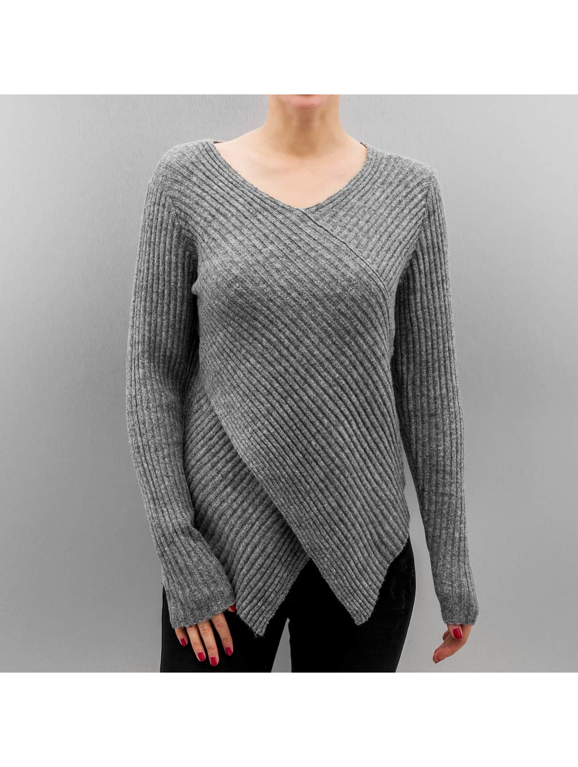 Vero Moda Haut / Pullover vmAnny en gris
