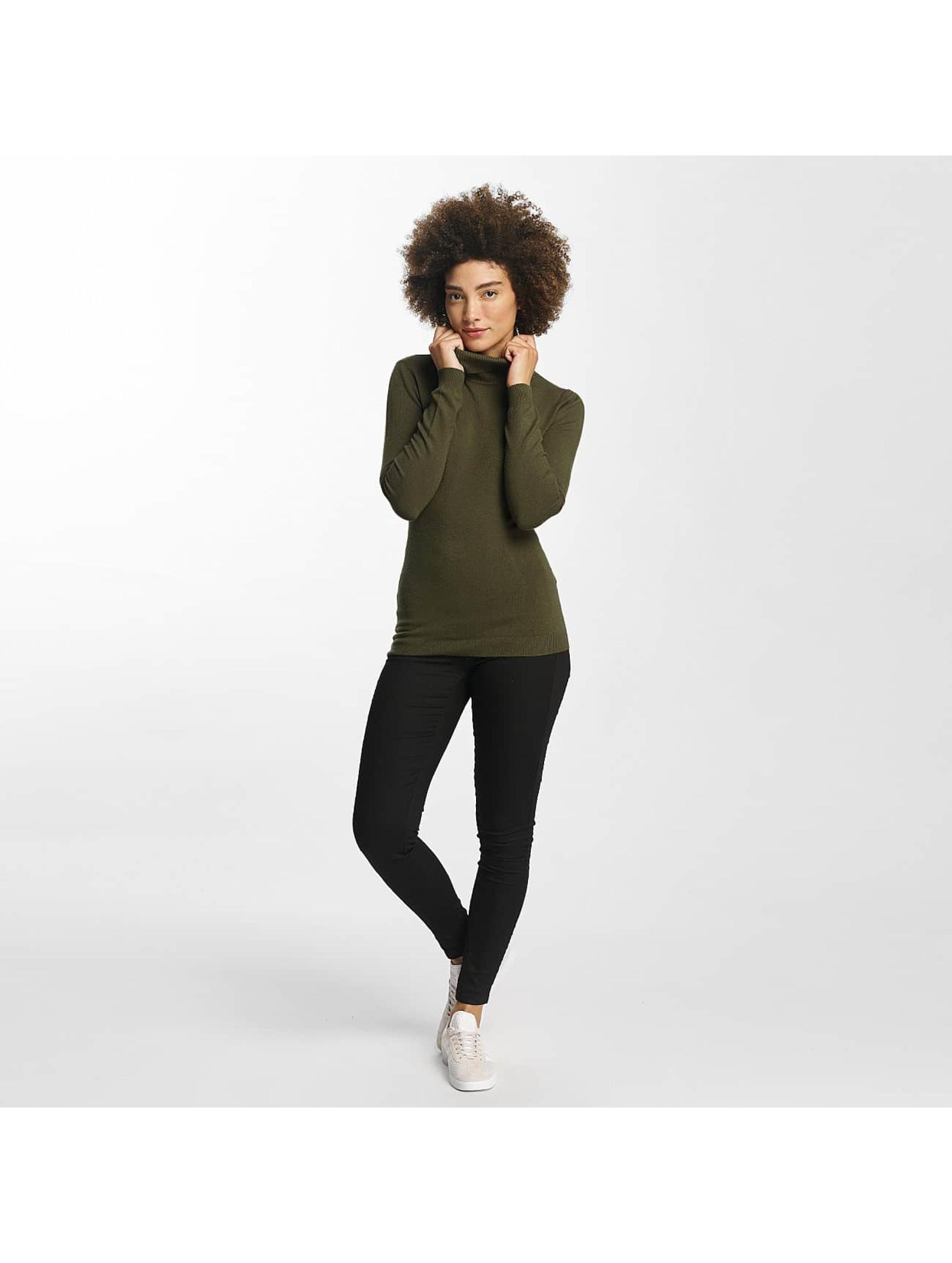 Vero Moda Pullover vmHappy Rollneck olive
