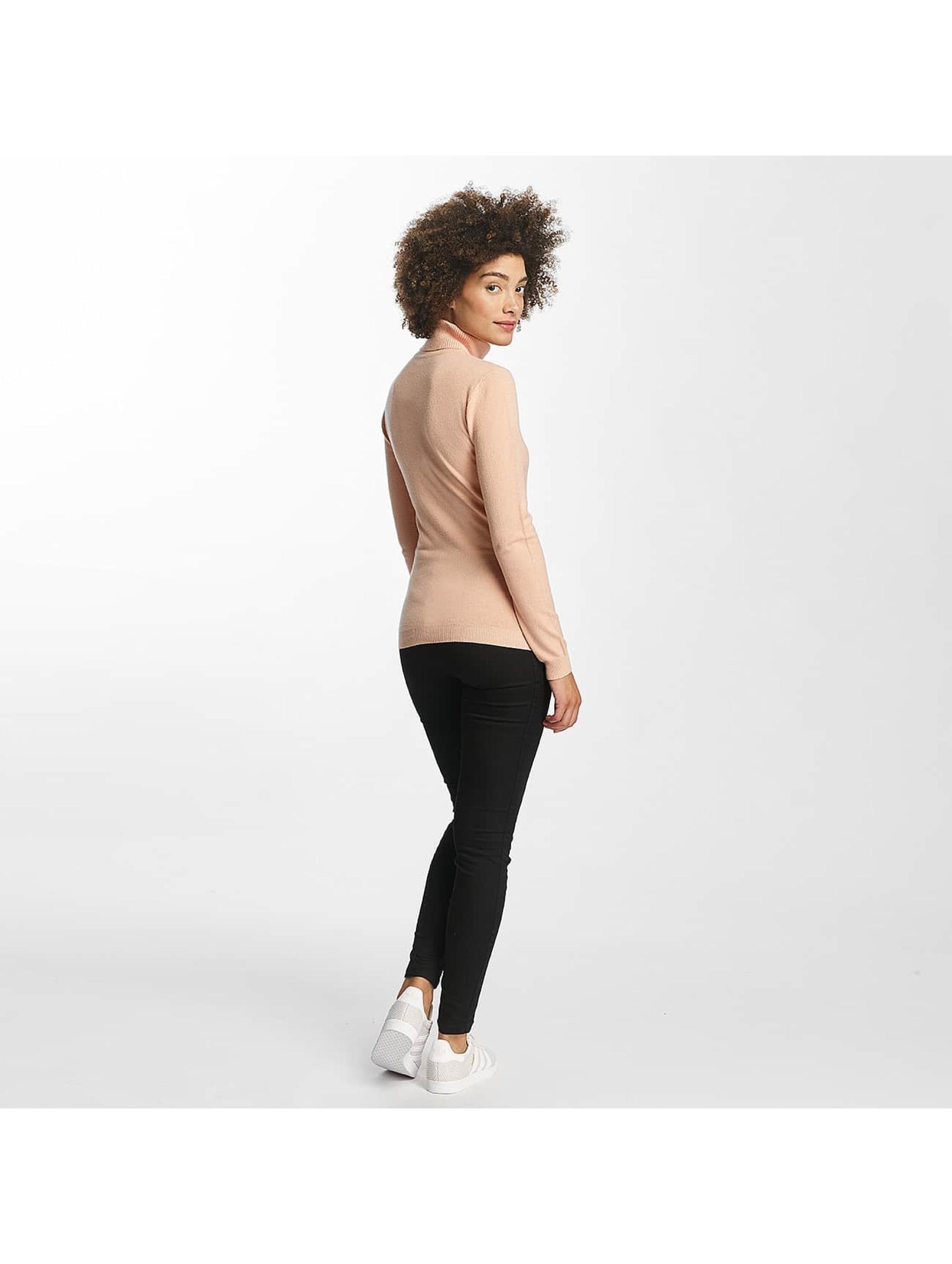 Vero Moda Pullover vmHappy Rollneck rosa