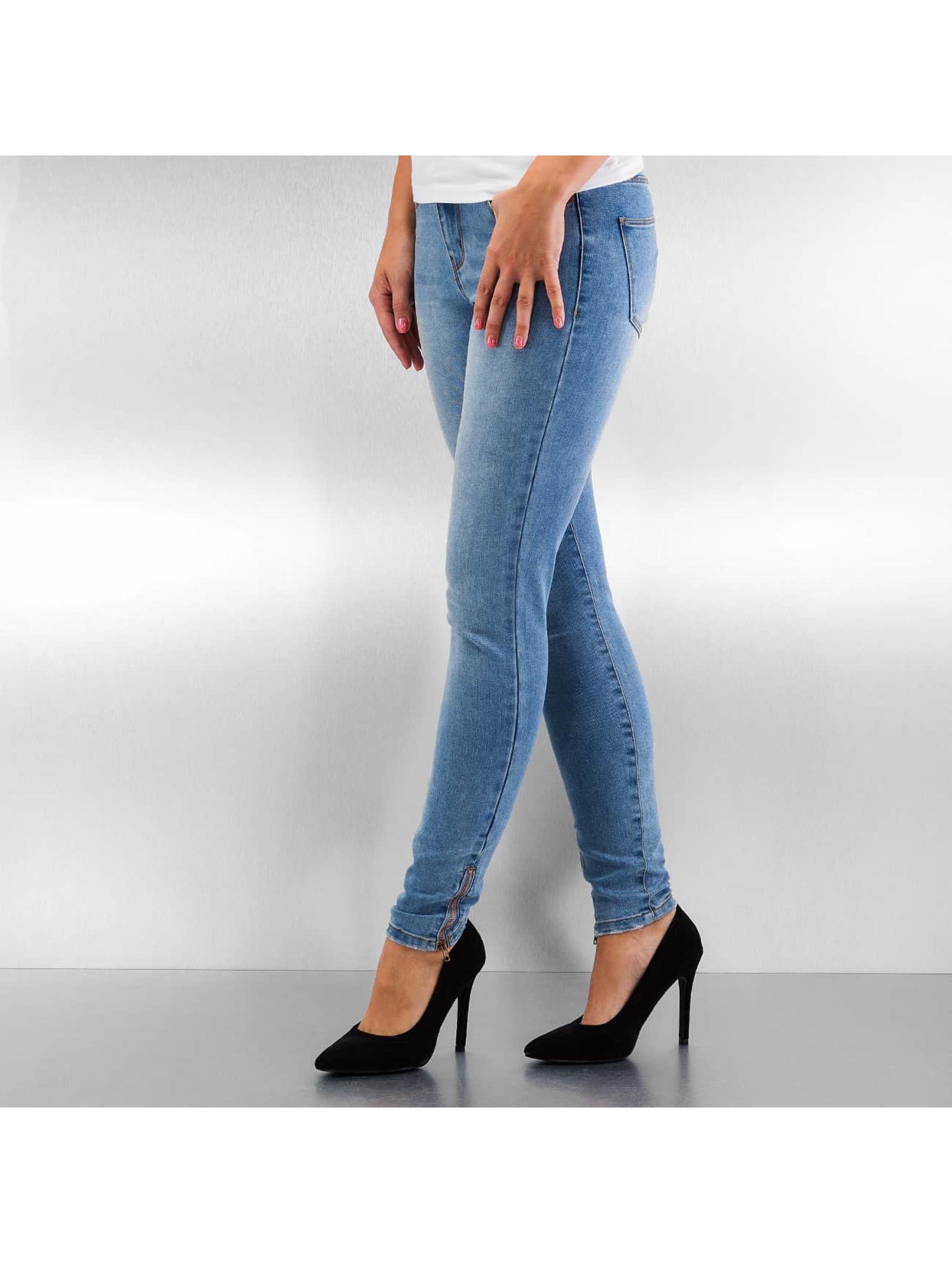 Vero Moda Skinny jeans vmSeven blå