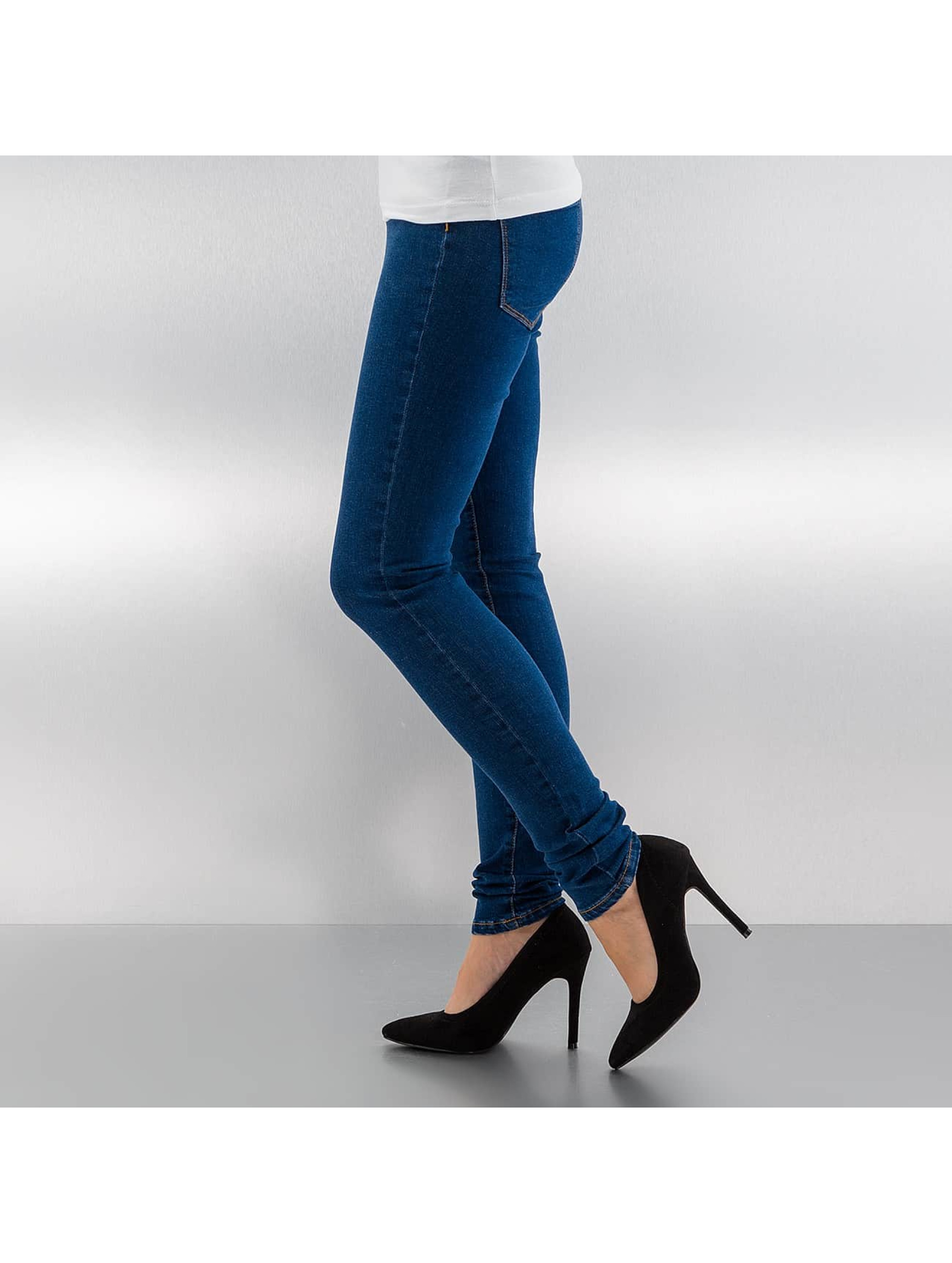 Vero Moda Skinny jeans vmSeven blauw