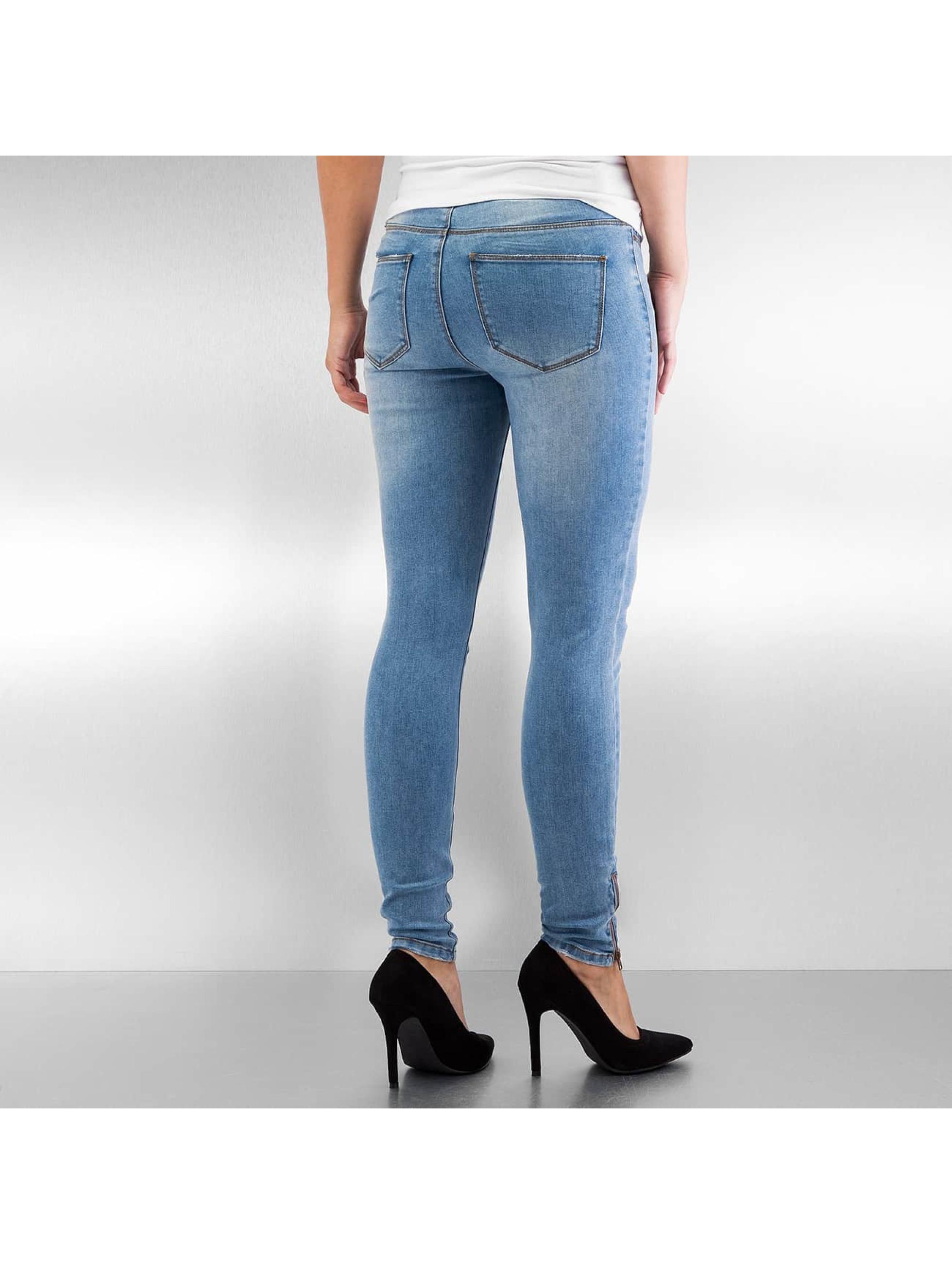 Vero Moda Skinny Jeans vmSeven blue