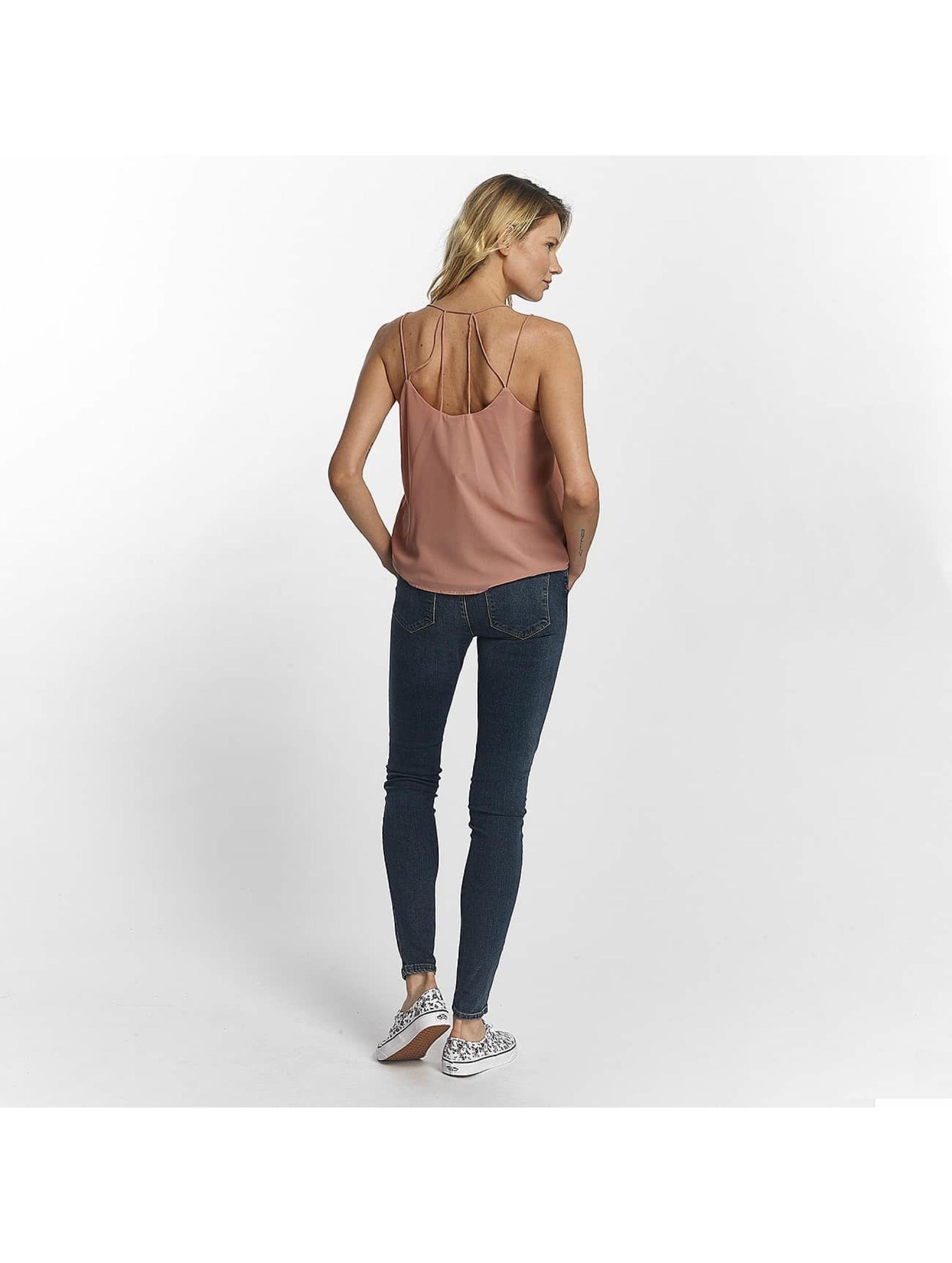 Vero Moda Slim Fit -farkut vmSeven Super Slim sininen