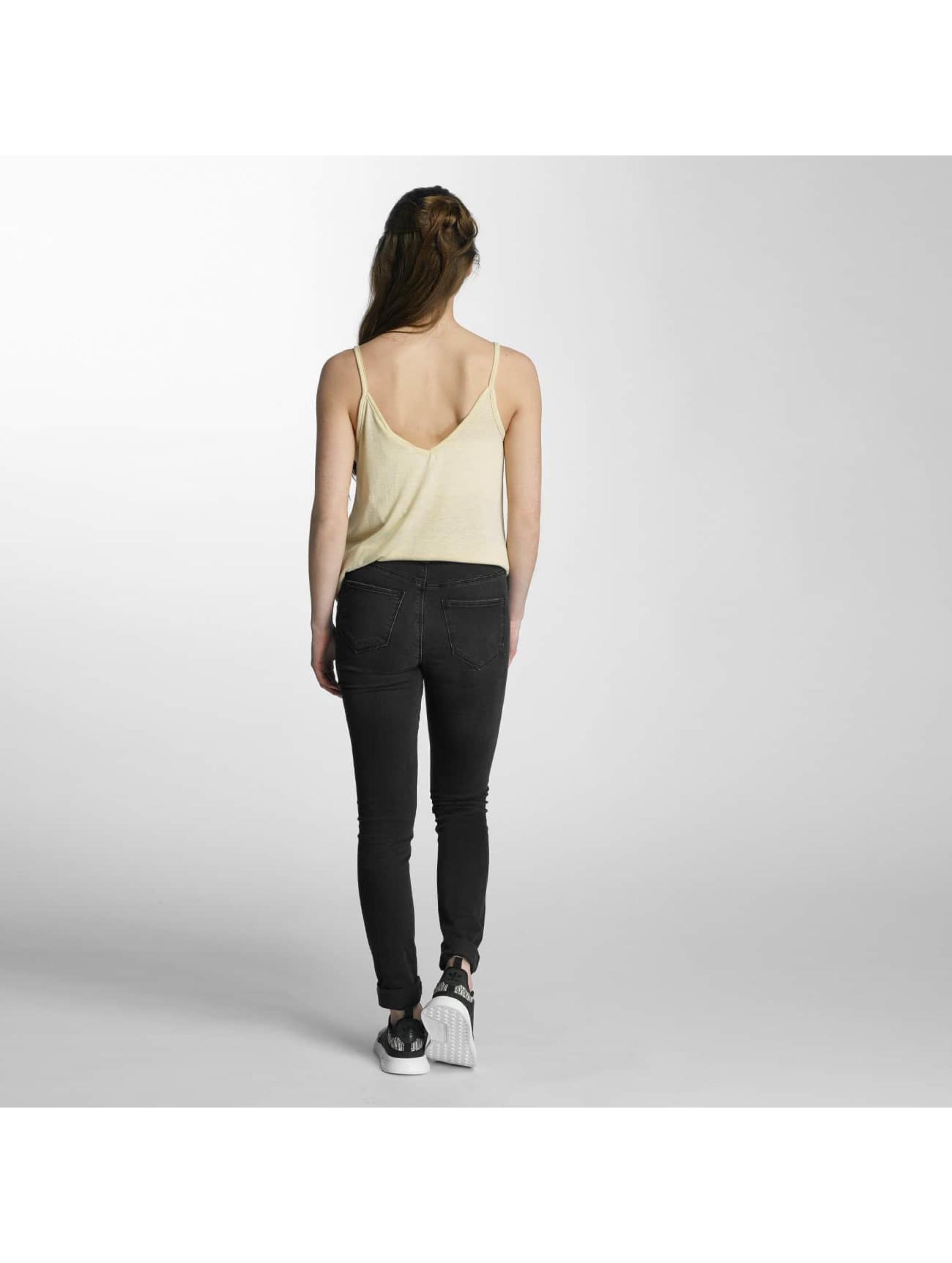 Vero Moda Slim Fit Jeans vmSeven čern