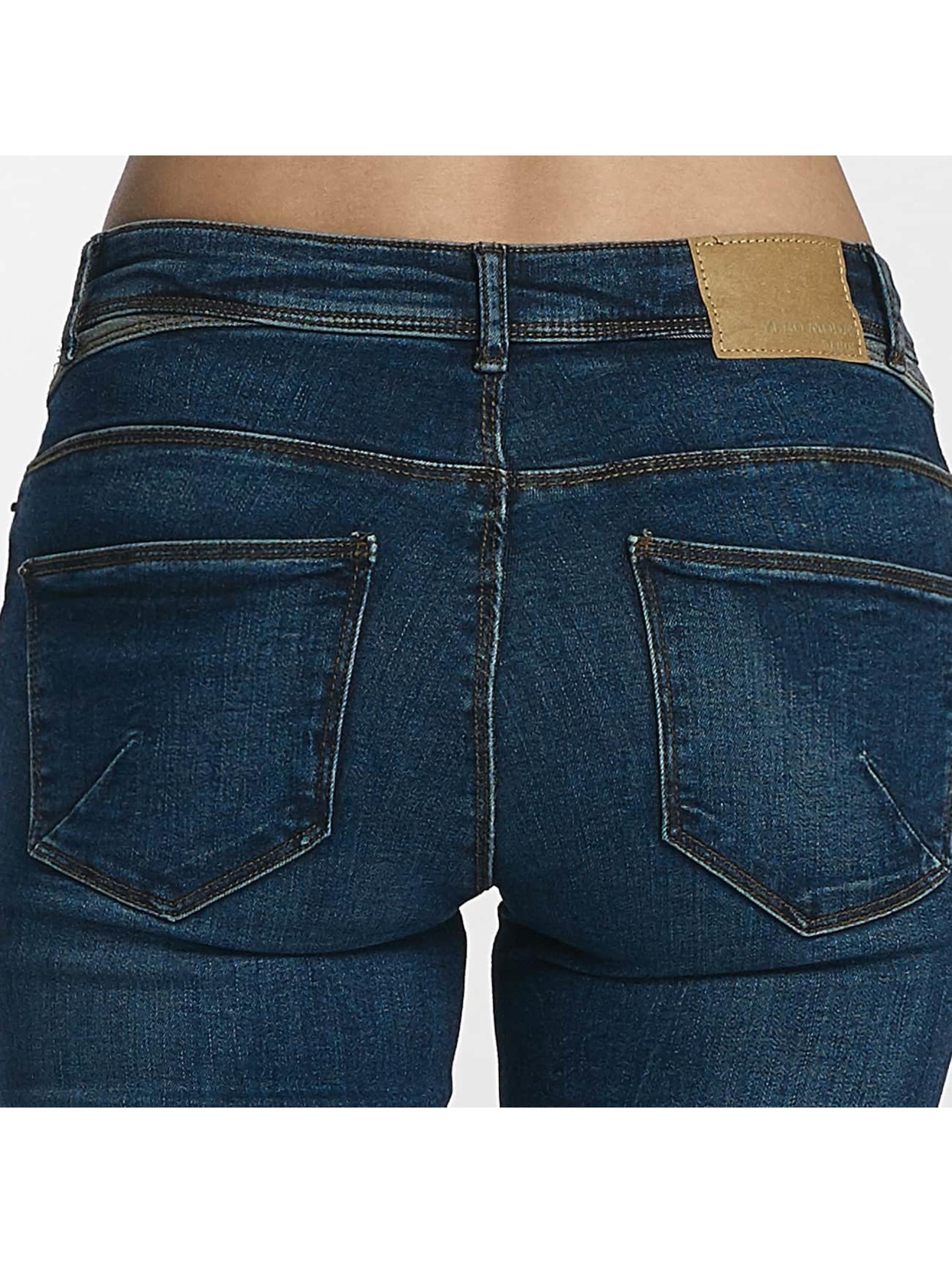 Vero Moda Slim Fit Jeans vmSeven blå