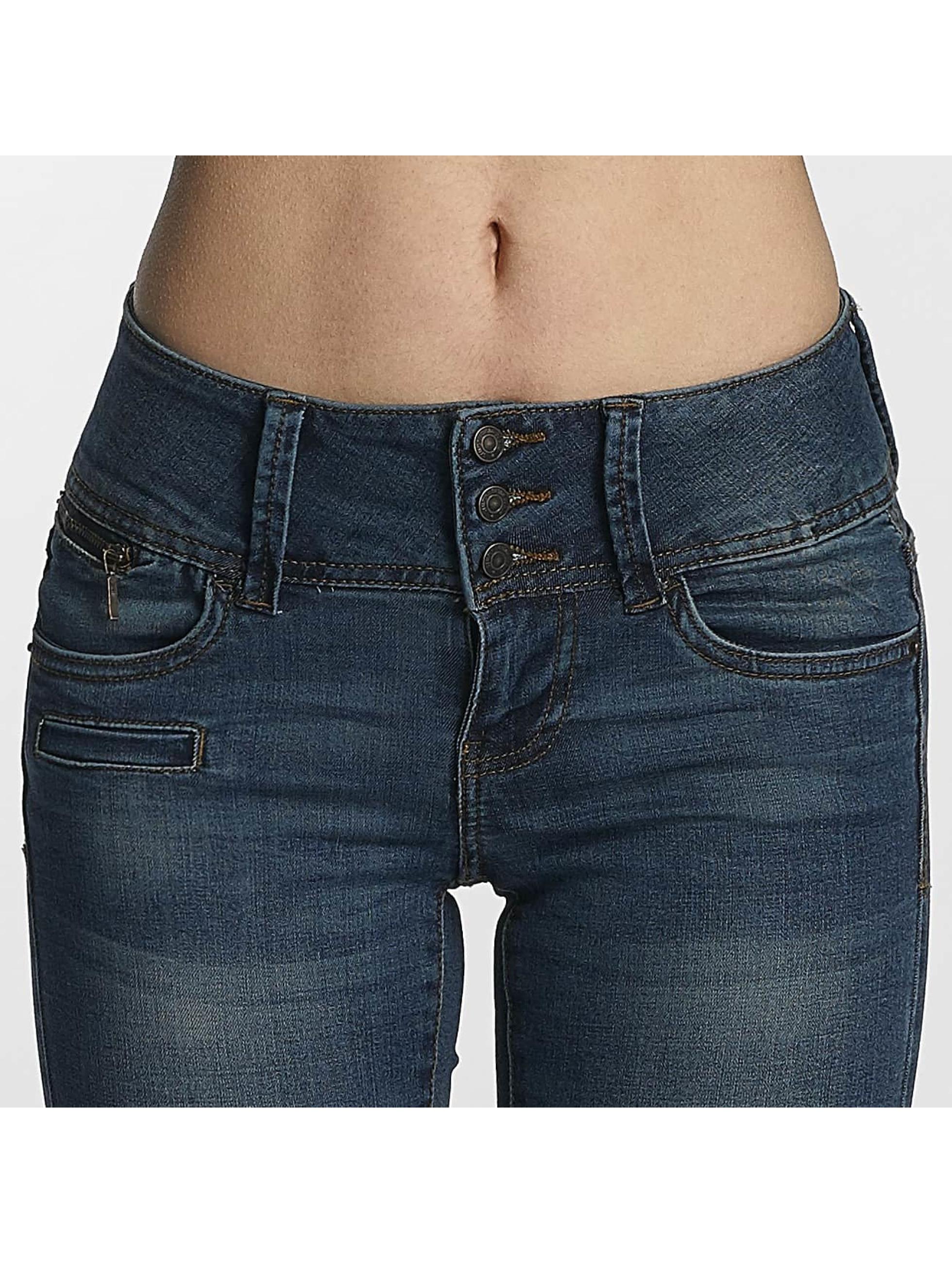 Vero Moda Slim Fit Jeans vmGamer blå