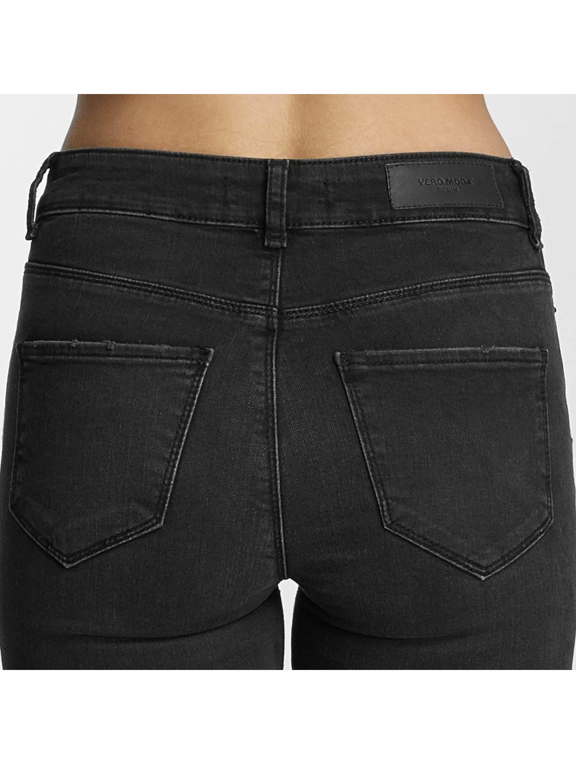Vero Moda Slim Fit Jeans vmSeven sort