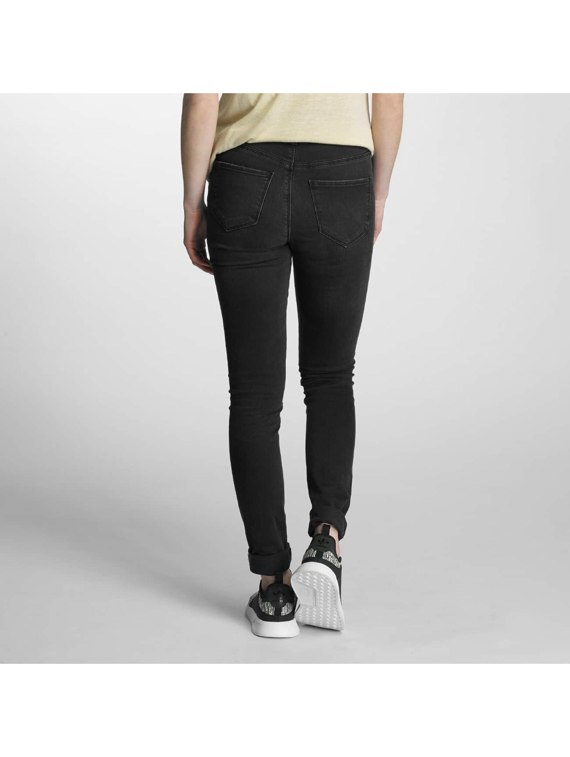 Vero Moda Slim Fit Jeans vmSeven zwart