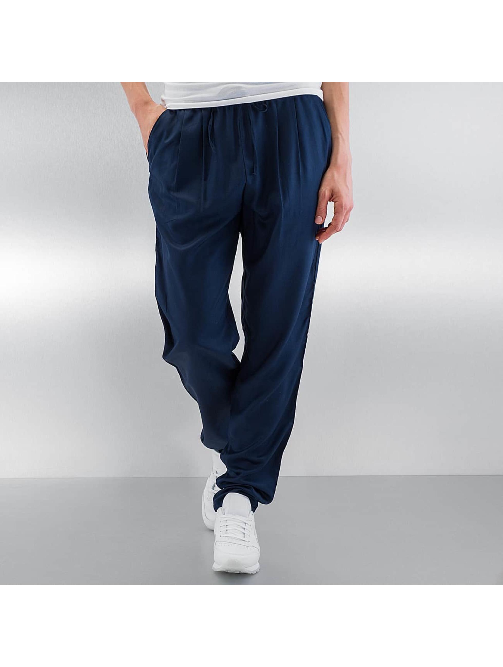 Vero Moda Stoffbukser vmFirst Elegant Loose String blå